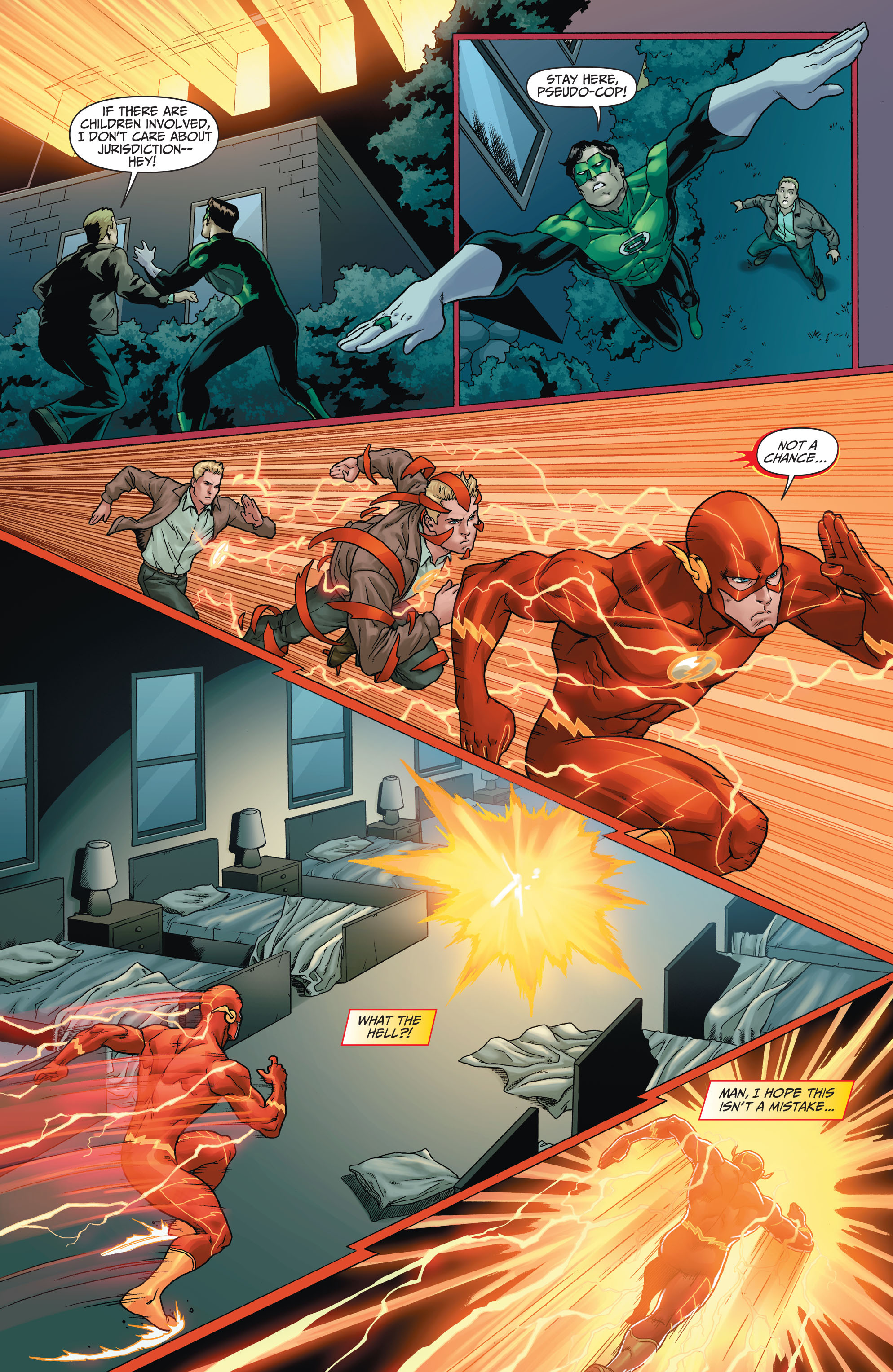 Read online The Flash (2011) comic -  Issue # _TPB 5 - 11
