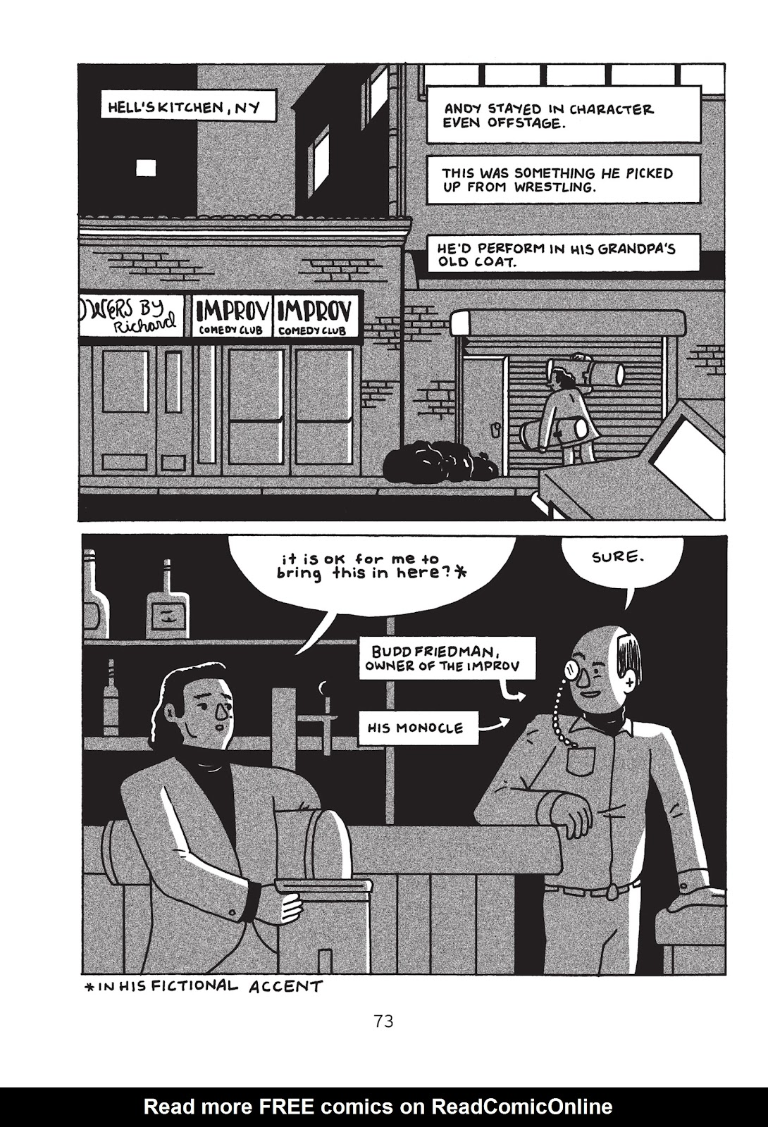 Read online Is This Guy For Real?: The Unbelievable Andy Kaufman comic -  Issue # TPB (Part 1) - 78