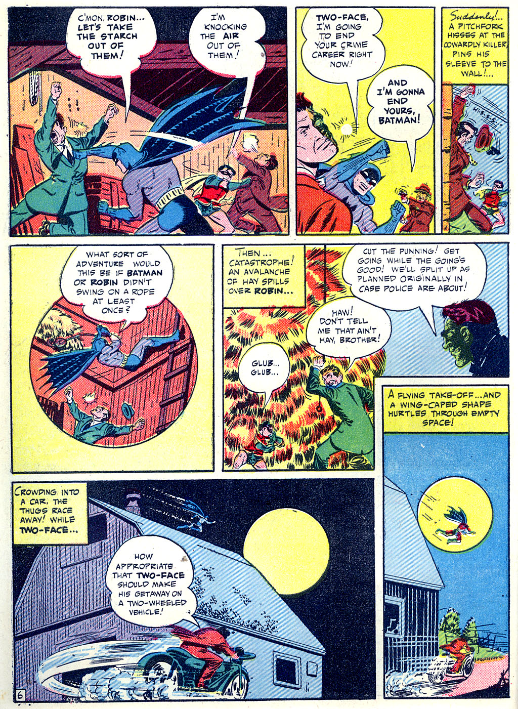 Read online Detective Comics (1937) comic -  Issue #68 - 8