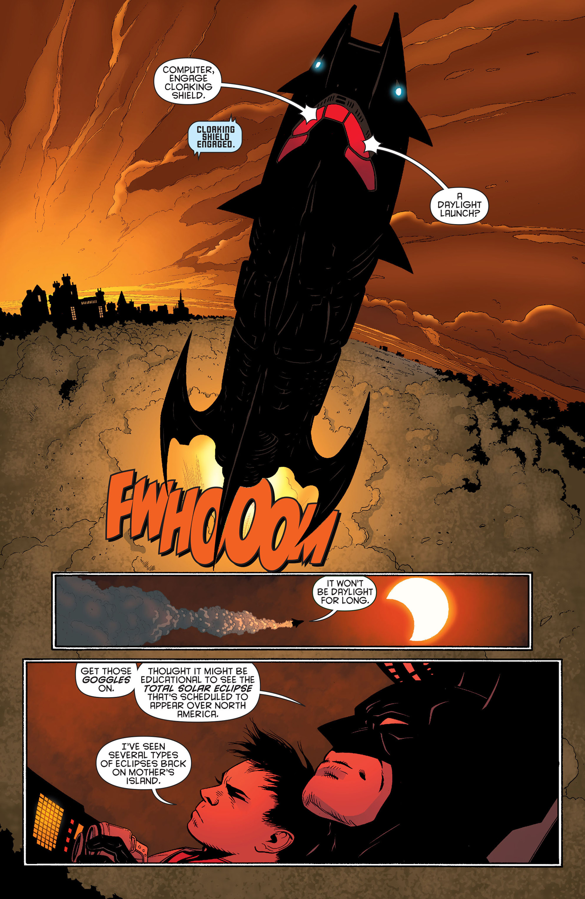 Read online Batman and Robin (2011) comic -  Issue #13 - 5