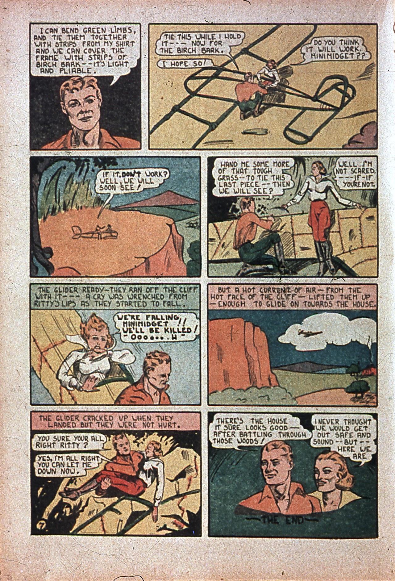 Read online Amazing Man Comics comic -  Issue #7 - 43