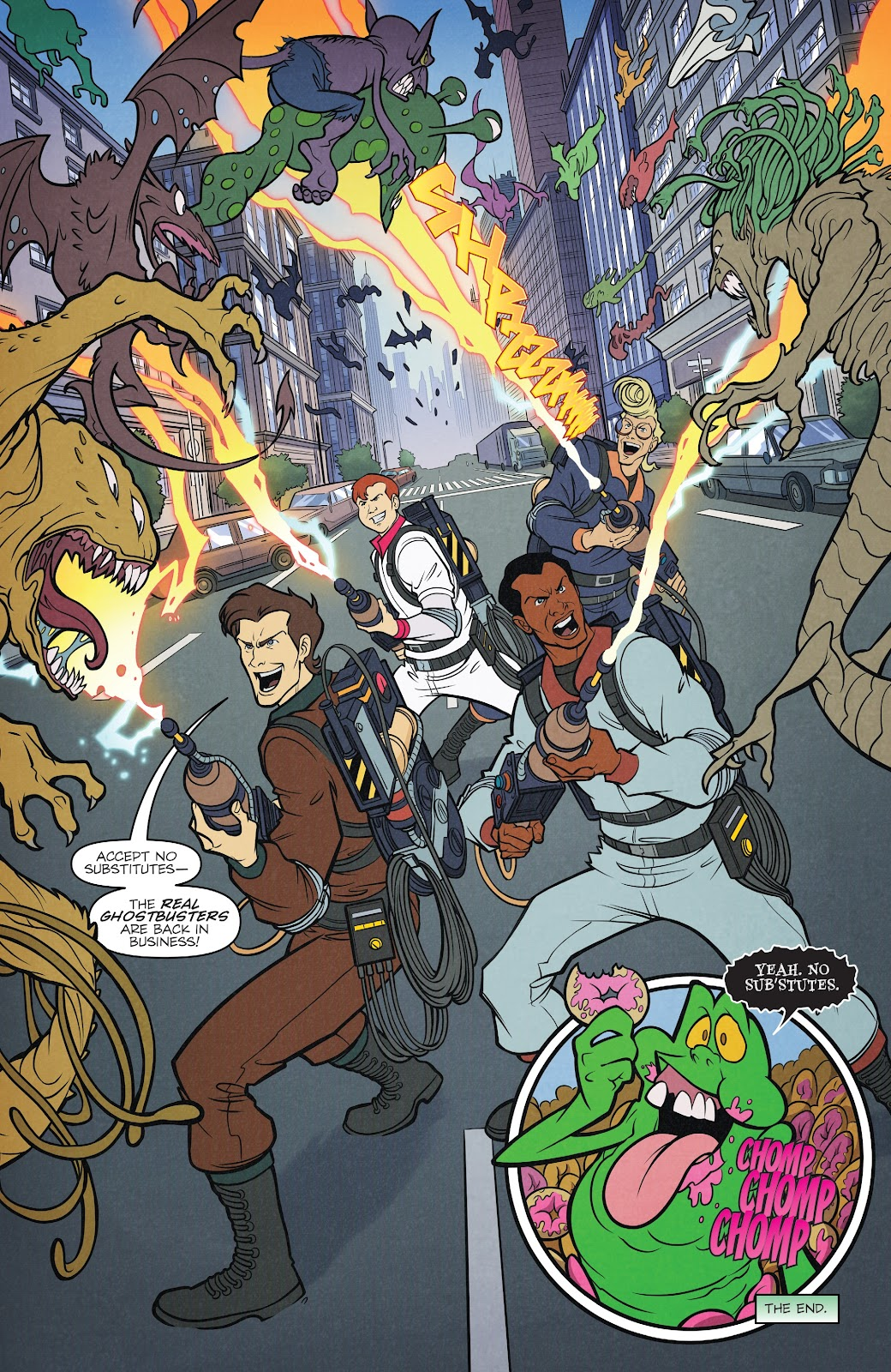 Read online Ghostbusters 35th Anniversary: The Real Ghostbusters comic -  Issue # Full - 24