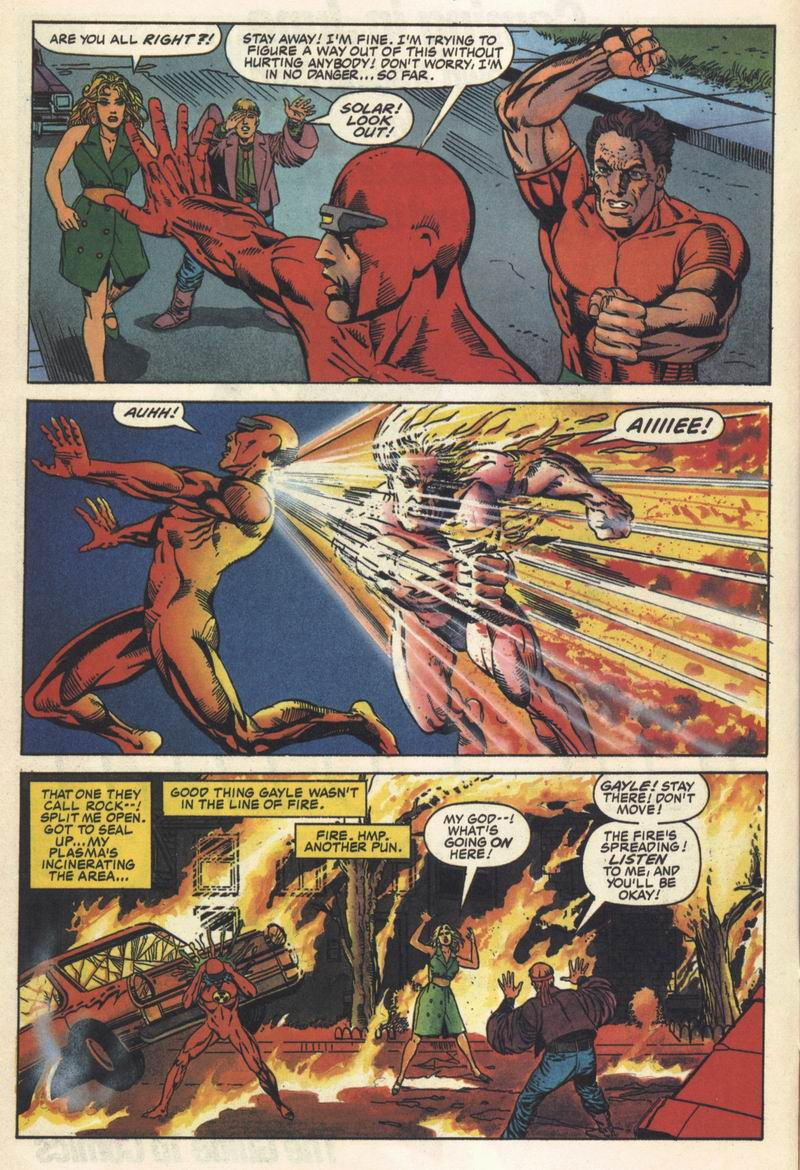 Read online Solar, Man of the Atom comic -  Issue #11 - 8