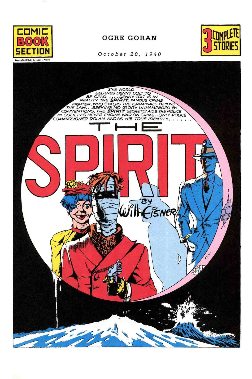 Read online Will Eisner's The Spirit Archives comic -  Issue # TPB 1 (Part 2) - 42
