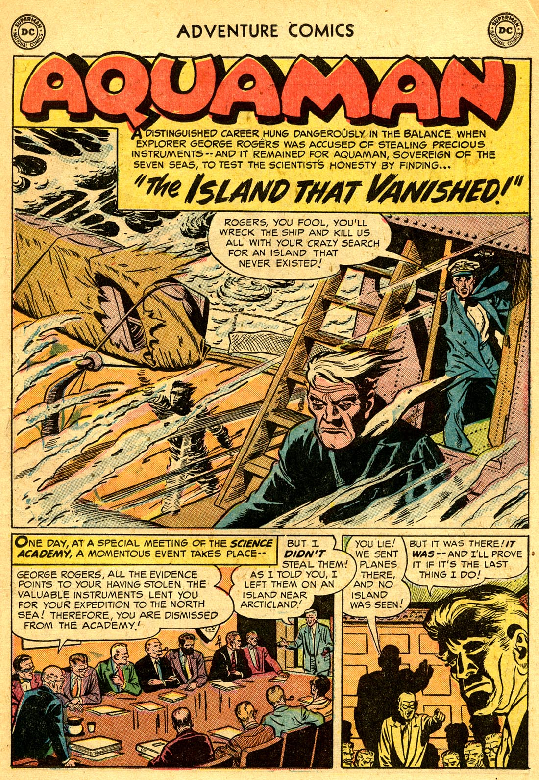 Read online Adventure Comics (1938) comic -  Issue #209 - 15