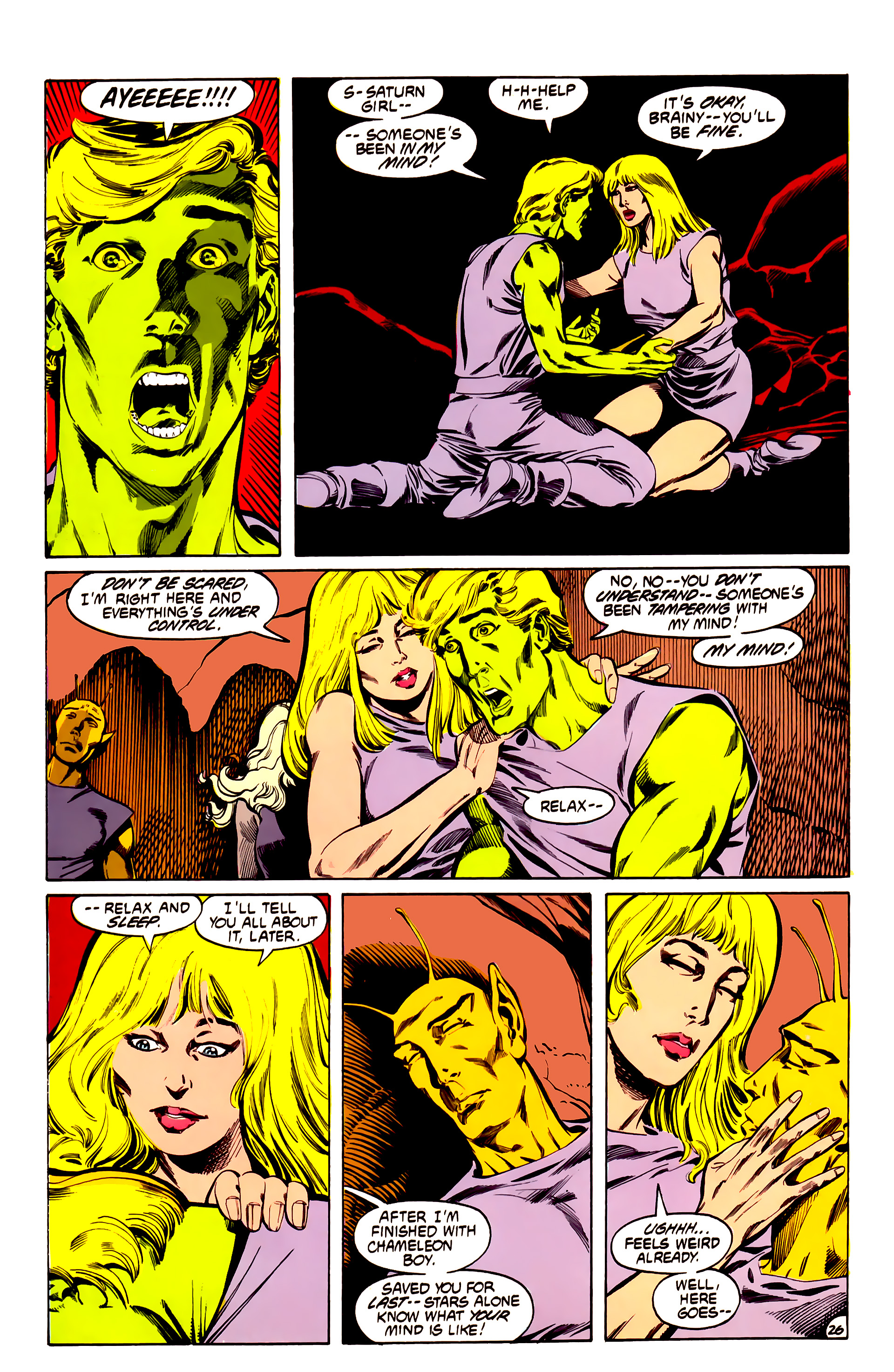 Legion of Super-Heroes (1984) 32 Page 25