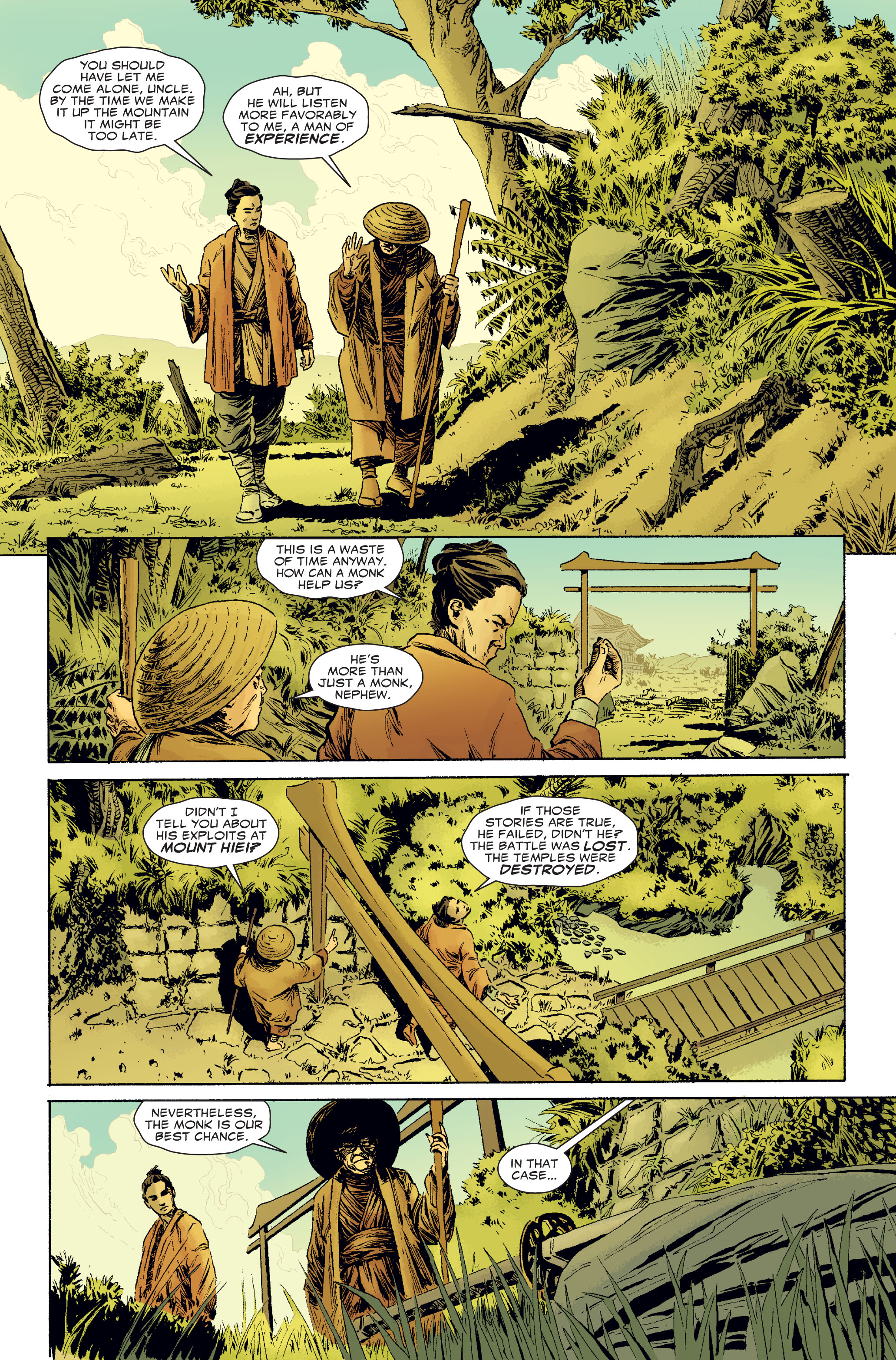 Read online 5 Ronin (2011) comic -  Issue #2 - 2