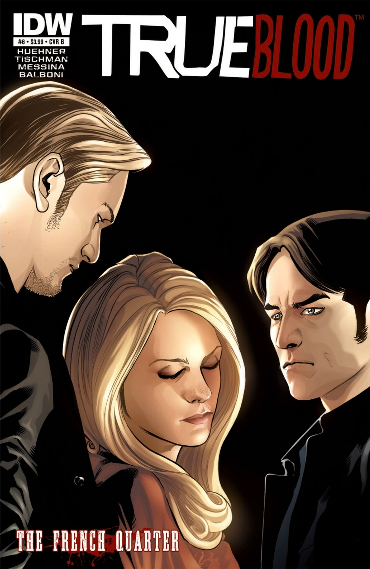 Read online True Blood: French Quarter comic -  Issue #6 - 2