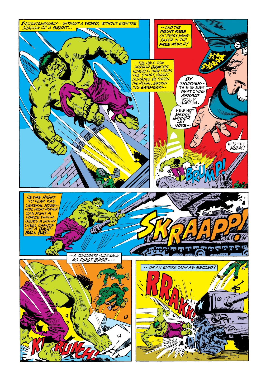 Read online Marvel Masterworks: The Incredible Hulk comic -  Issue # TPB 7 (Part 2) - 95