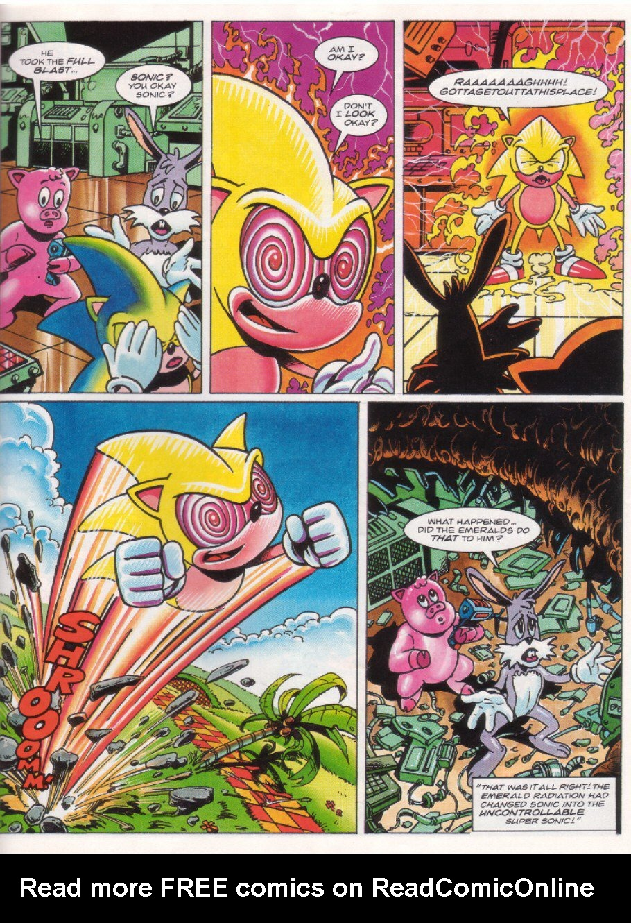 Read online Sonic the Comic comic -  Issue #27 - 20
