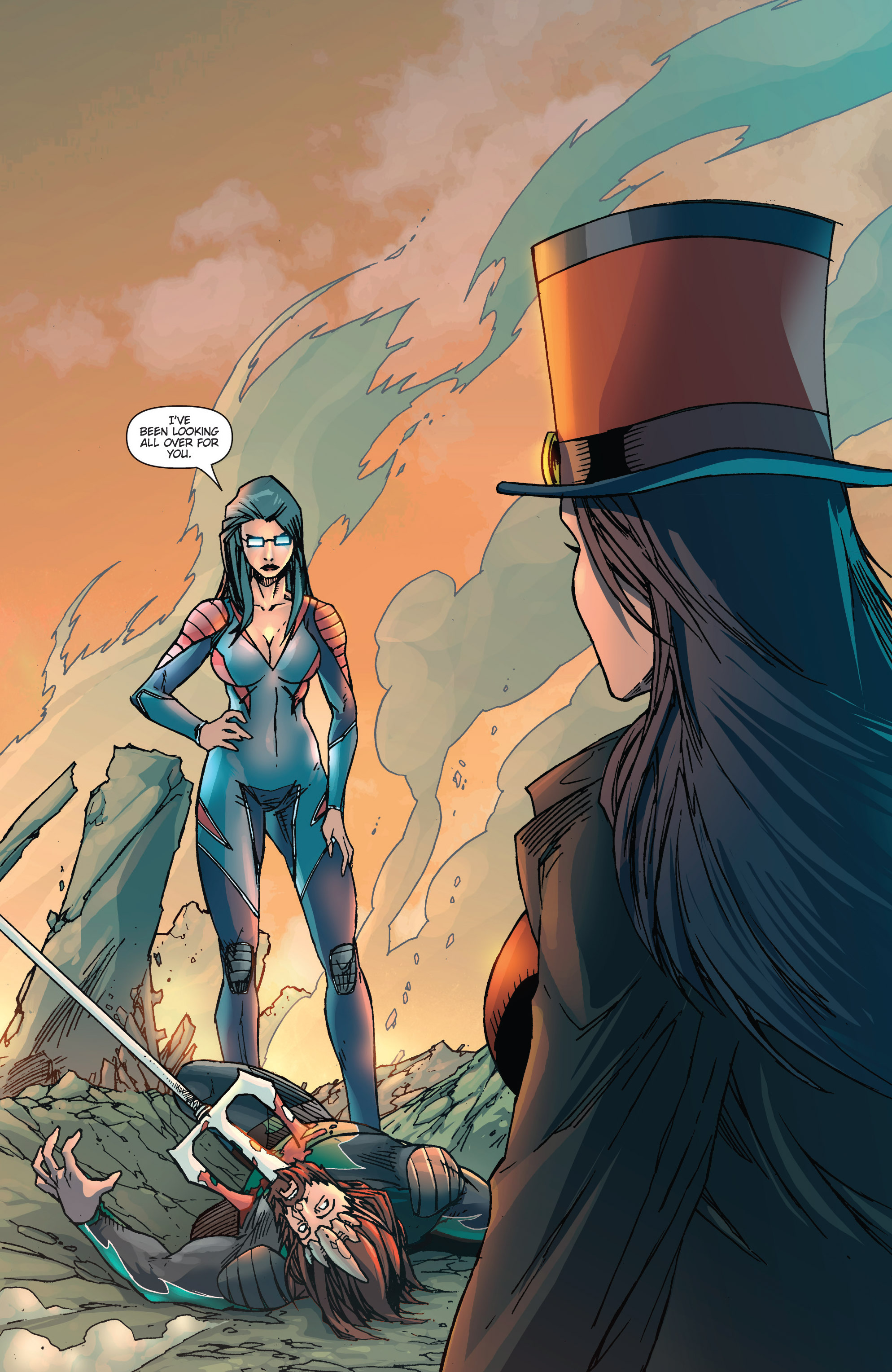 Read online Grimm Fairy Tales presents Realm Knights: Age of Darkness comic -  Issue # Full - 22