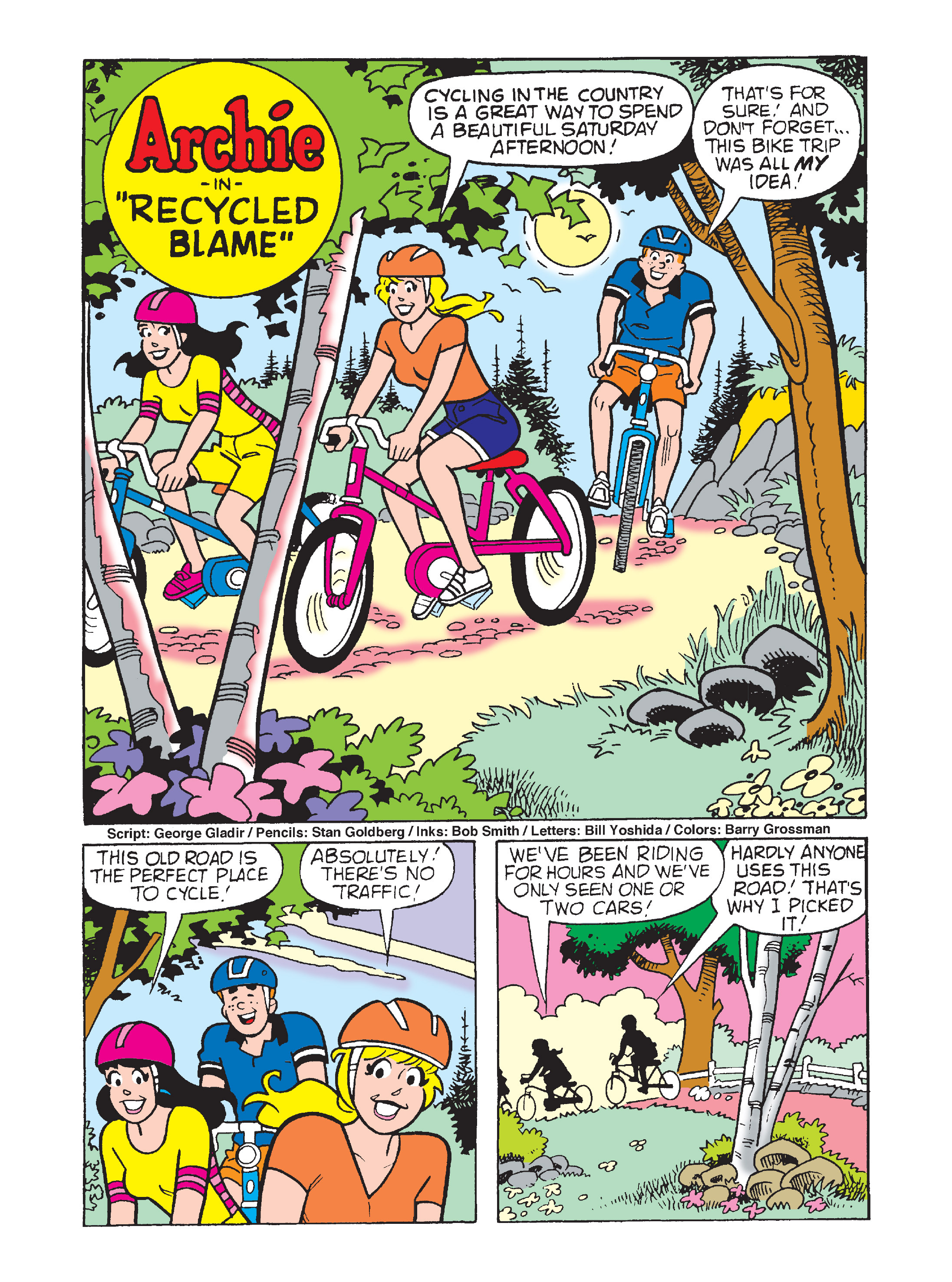 Read online Archie's Funhouse Double Digest comic -  Issue #7 - 7