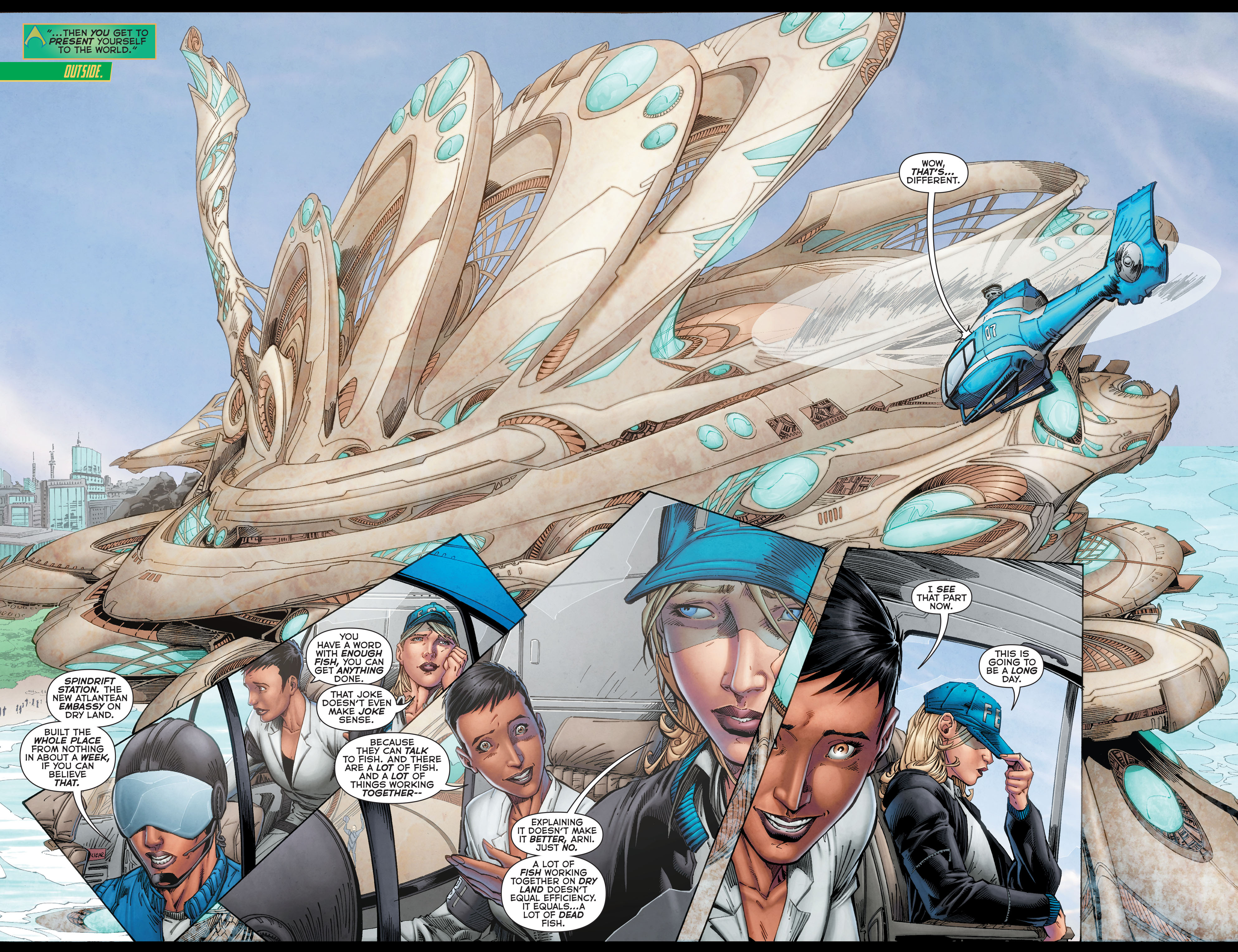Read online Aquaman (2011) comic -  Issue #50 - 11