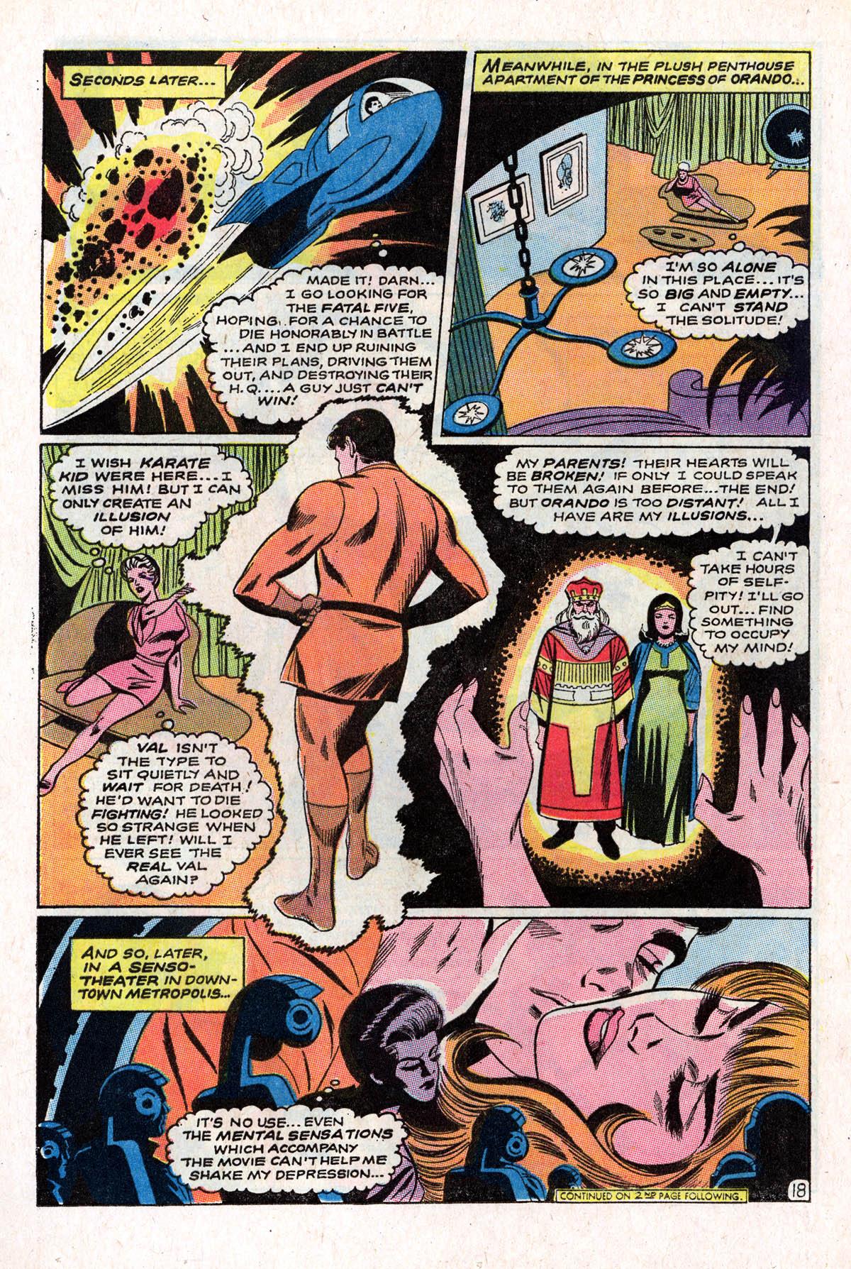 Read online Adventure Comics (1938) comic -  Issue #378 - 24