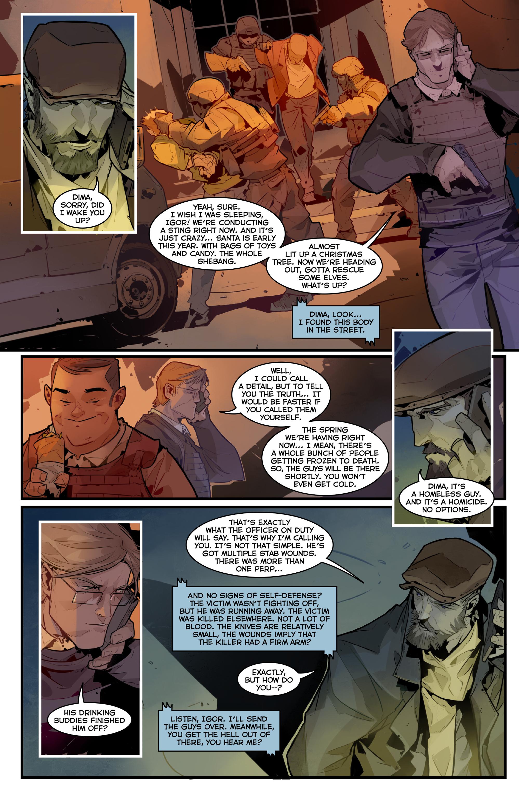 Read online Igor Grom comic -  Issue #4 - 22