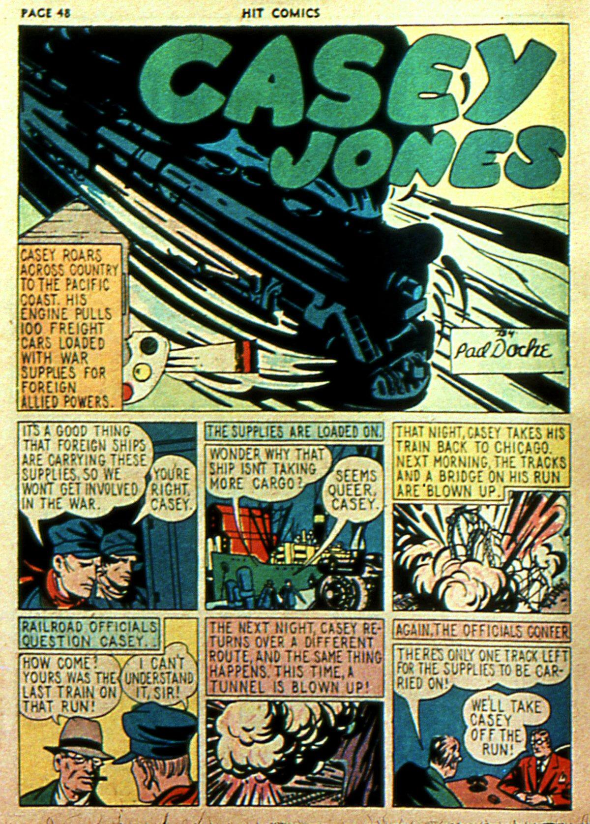 Read online Hit Comics comic -  Issue #2 - 50