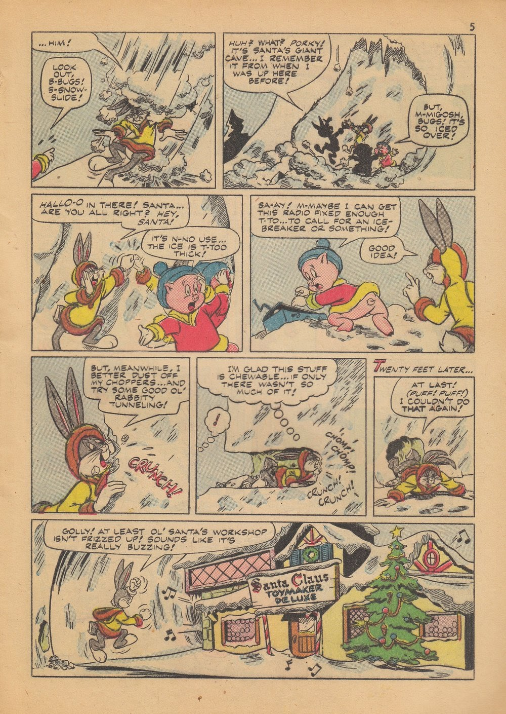 Bugs Bunny's Christmas Funnies issue TPB 4 - Page 7