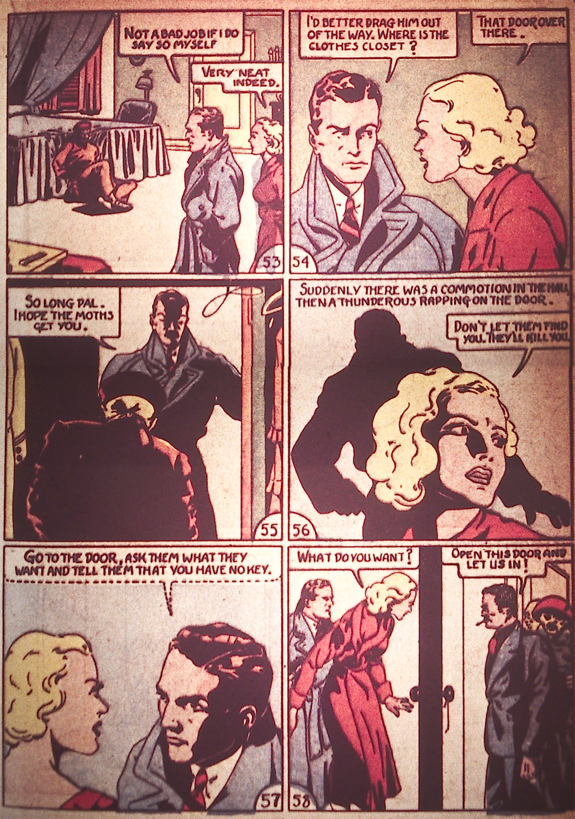 Read online Detective Comics (1937) comic -  Issue #5 - 31