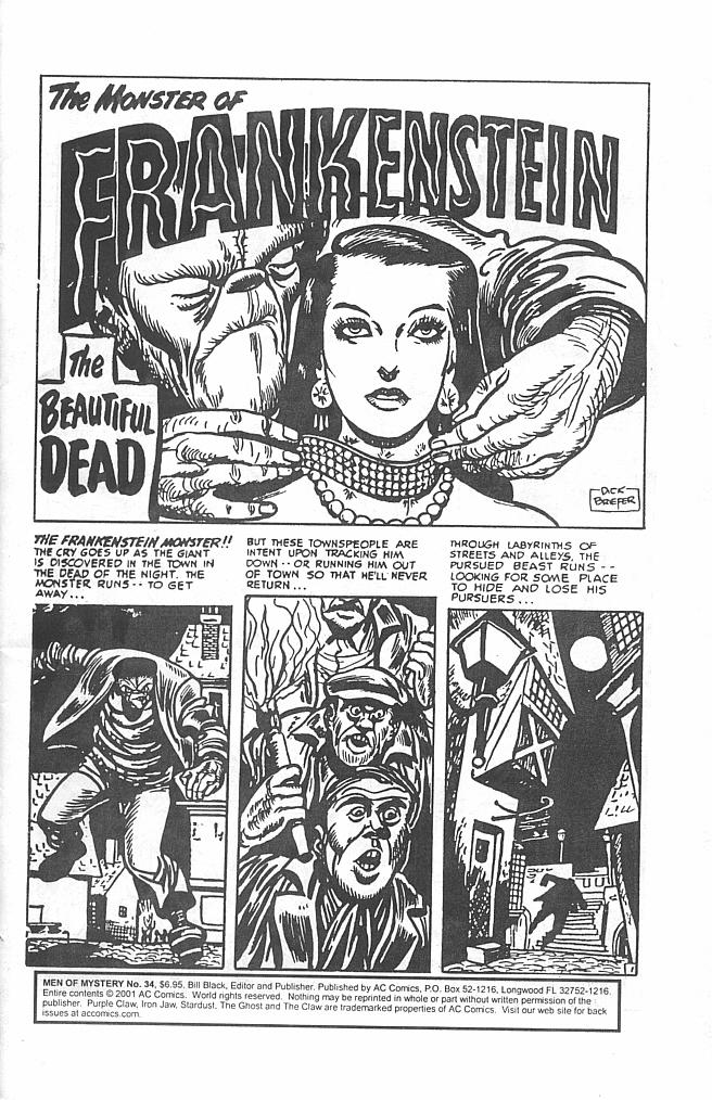 Read online Men of Mystery Comics comic -  Issue #34 - 3