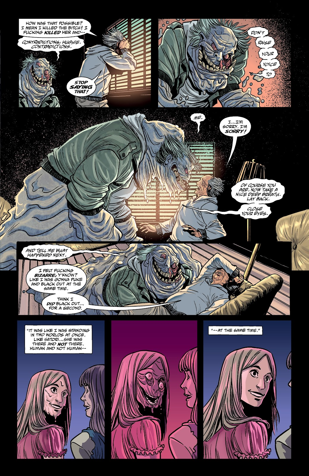 Read online The Girl In The Bay comic -  Issue #3 - 7
