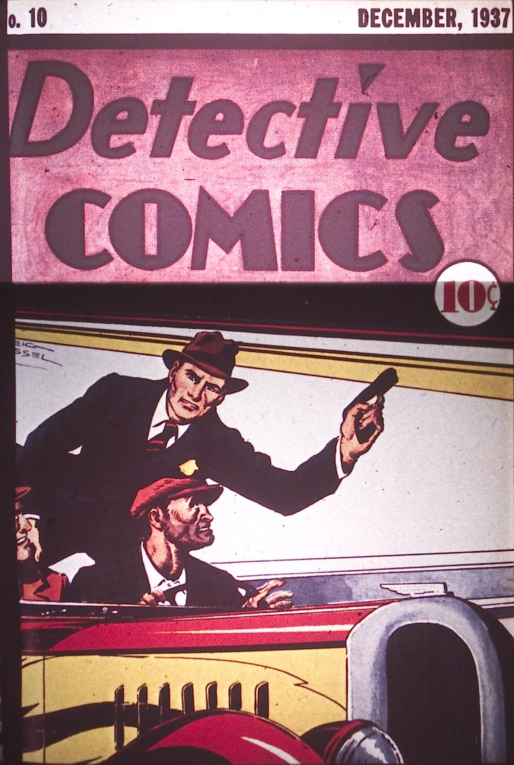 Detective Comics (1937) 10 Page 1