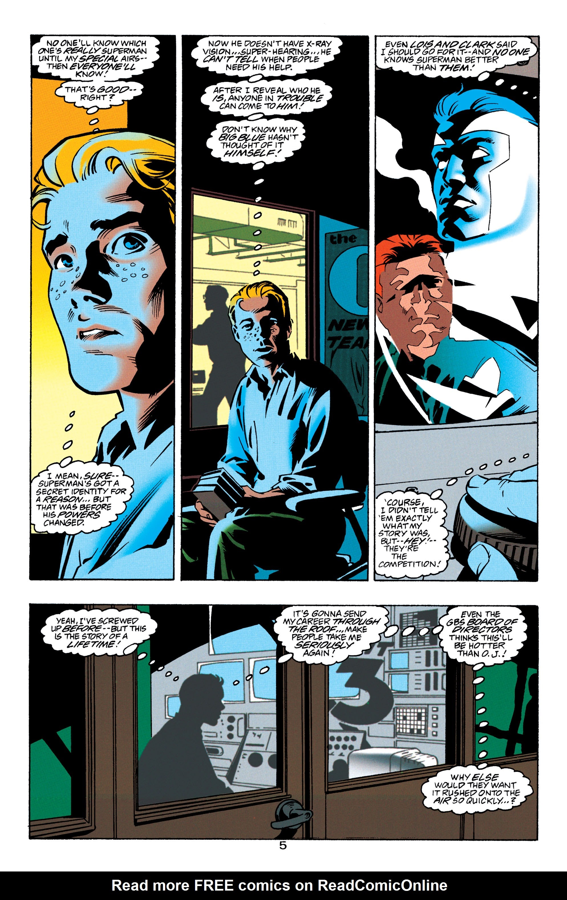 Adventures of Superman (1987) issue 550 - Page 6