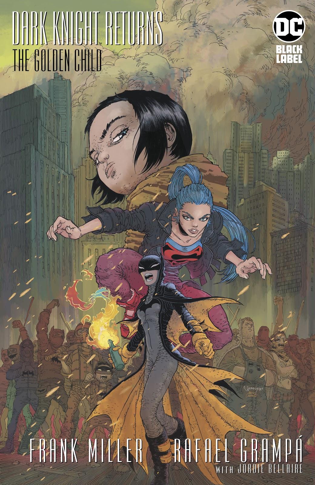 Dark Knight Returns: The Golden Child issue Full - Page 1