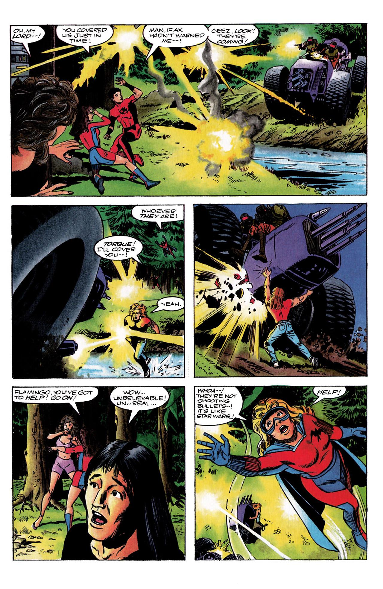 Read online Harbinger (1992) comic -  Issue #3 - 12