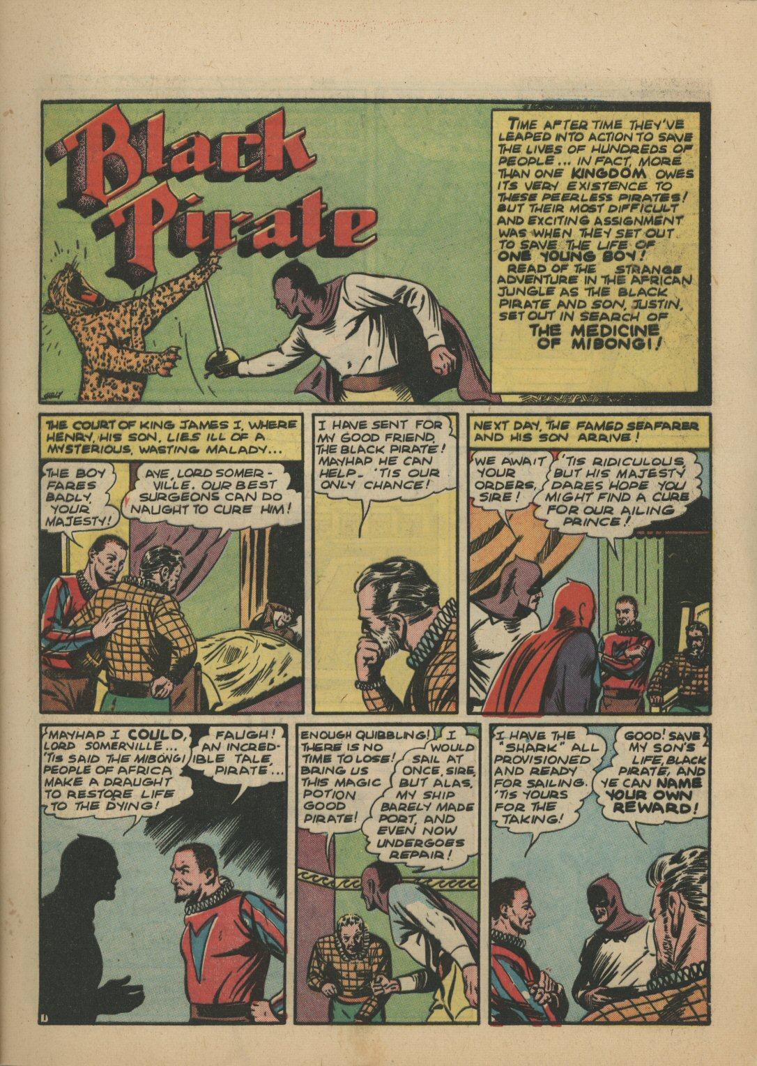 Read online Sensation (Mystery) Comics comic -  Issue #21 - 16