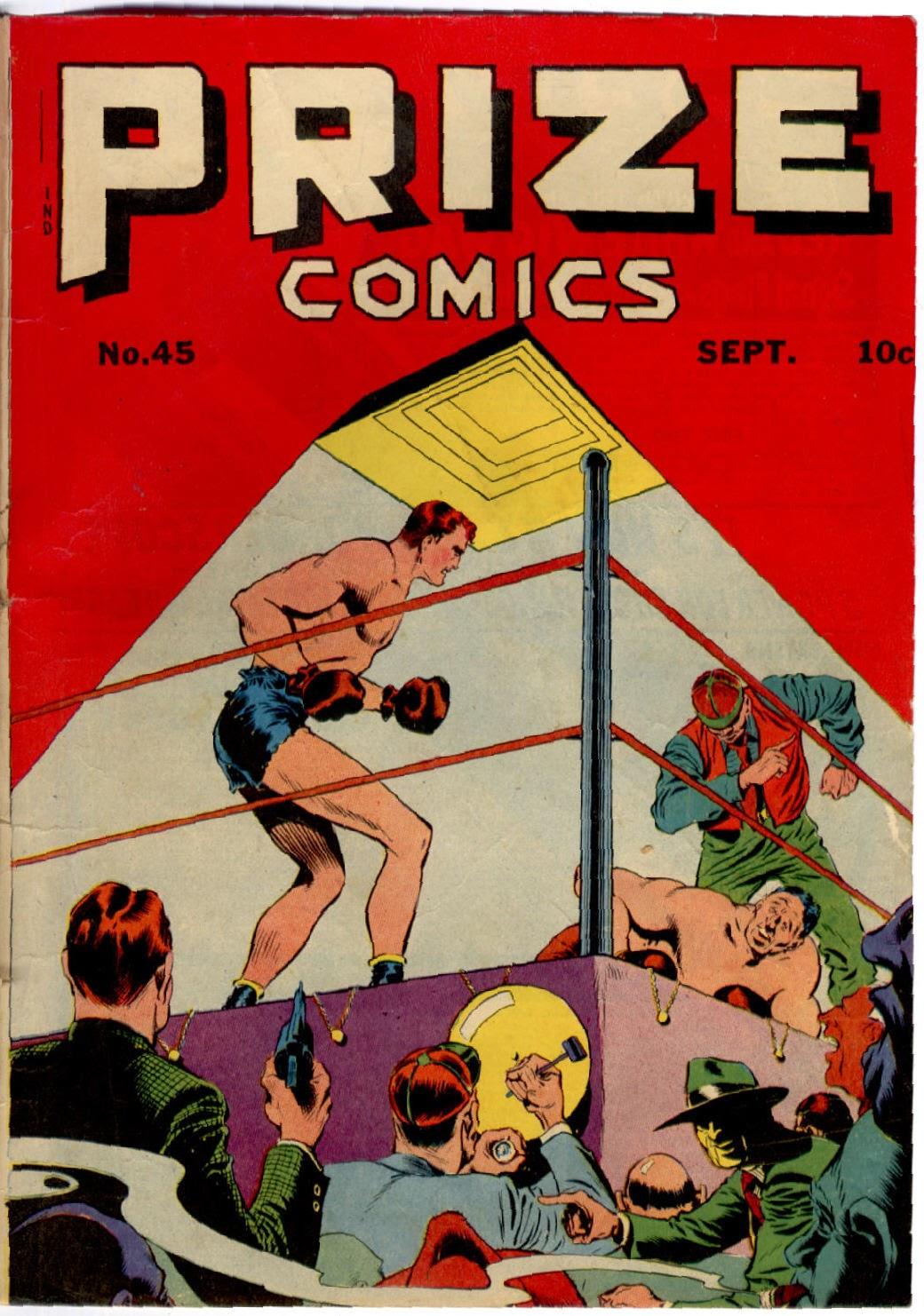 Prize Comics 45 Page 1
