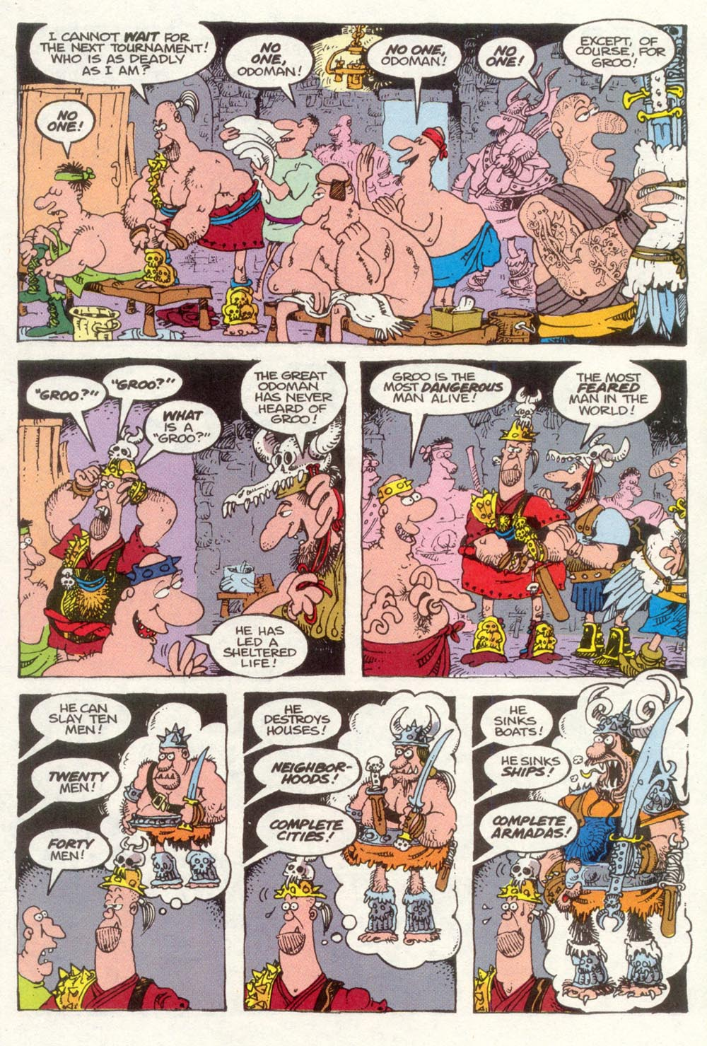 Read online Sergio Aragonés Groo the Wanderer comic -  Issue #91 - 7