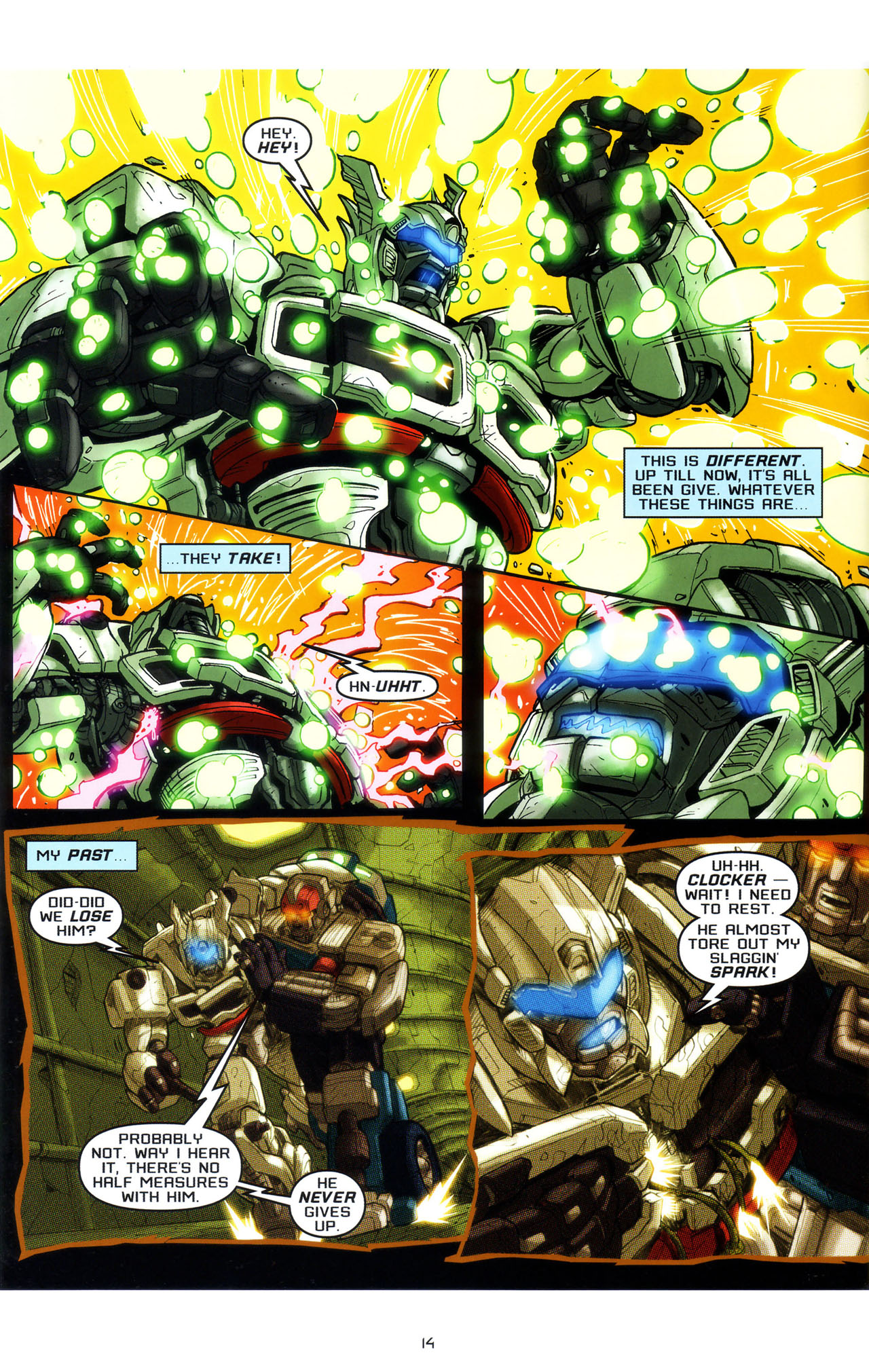 Read online Transformers: Saga of the Allspark comic -  Issue #3 - 17