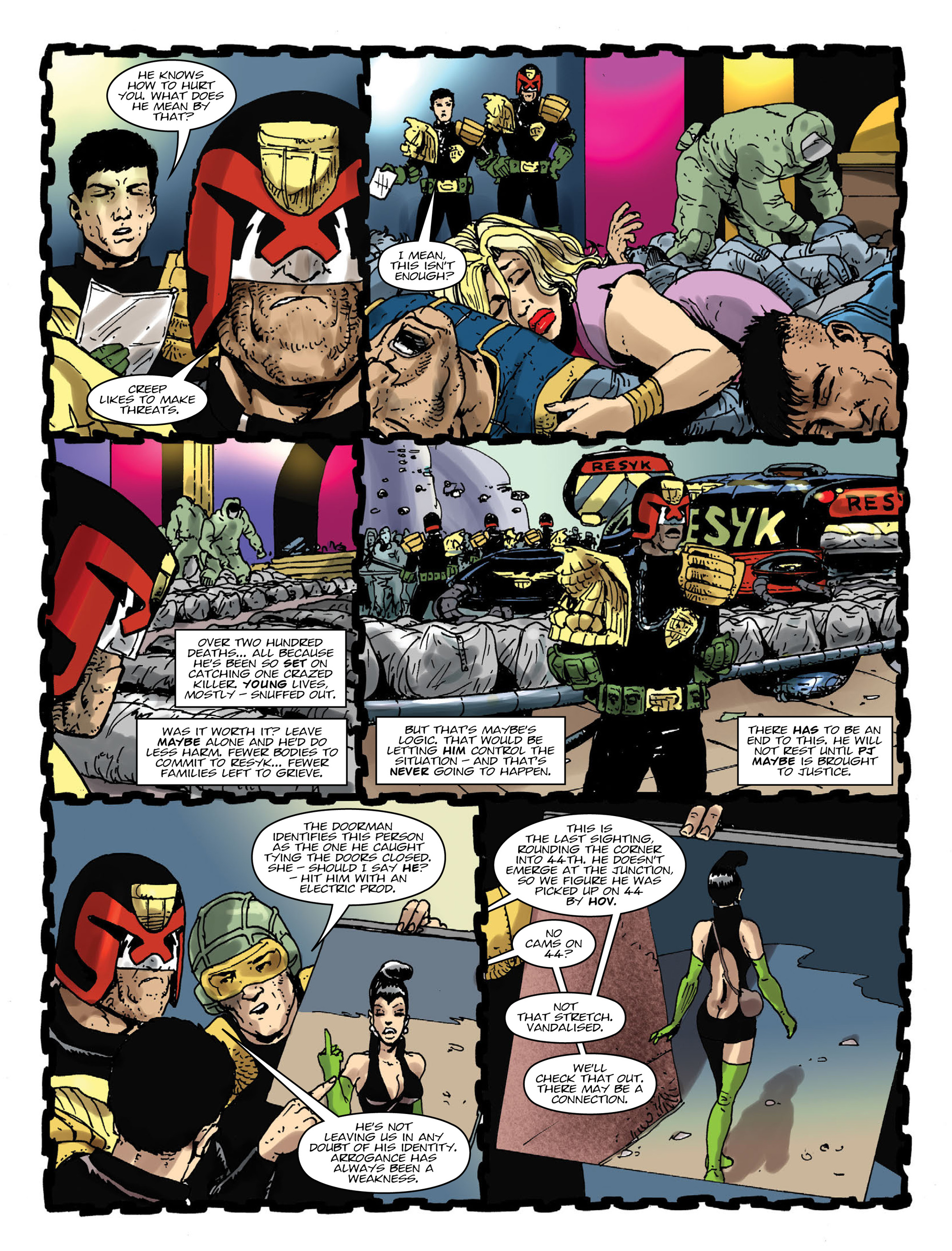 Read online 2000 AD comic -  Issue #1995 - 6