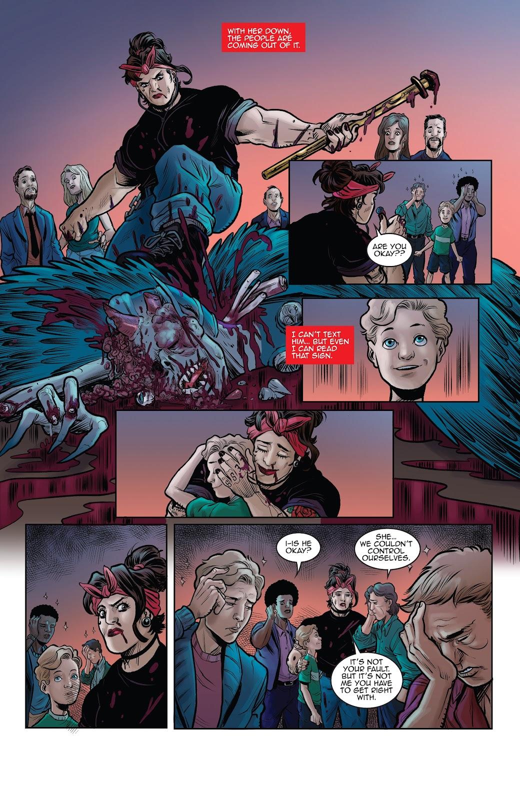 Read online Black Betty comic -  Issue #8 - 23