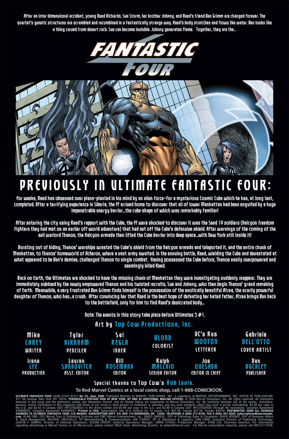 Read online Ultimate Fantastic Four (2004) comic -  Issue #53 - 2