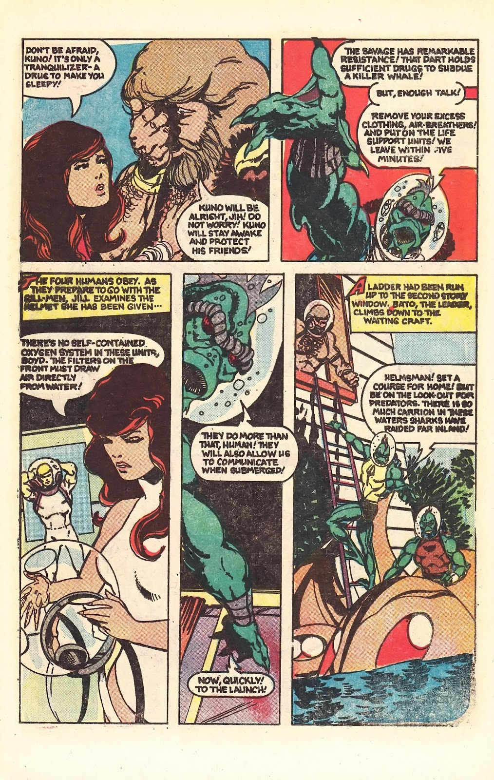 Read online Doomsday   1 (1975) comic -  Issue #4 - 12