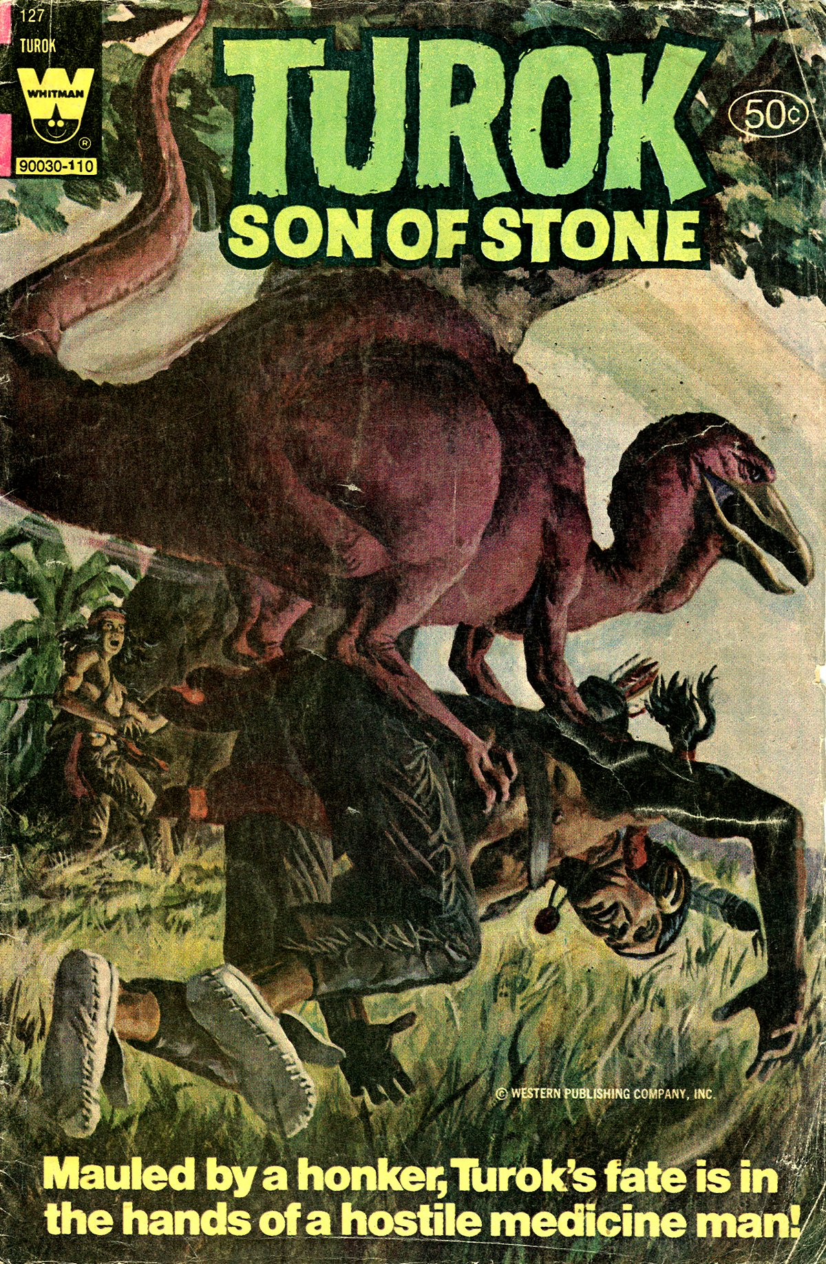 Read online Turok, Son of Stone comic -  Issue #127 - 1