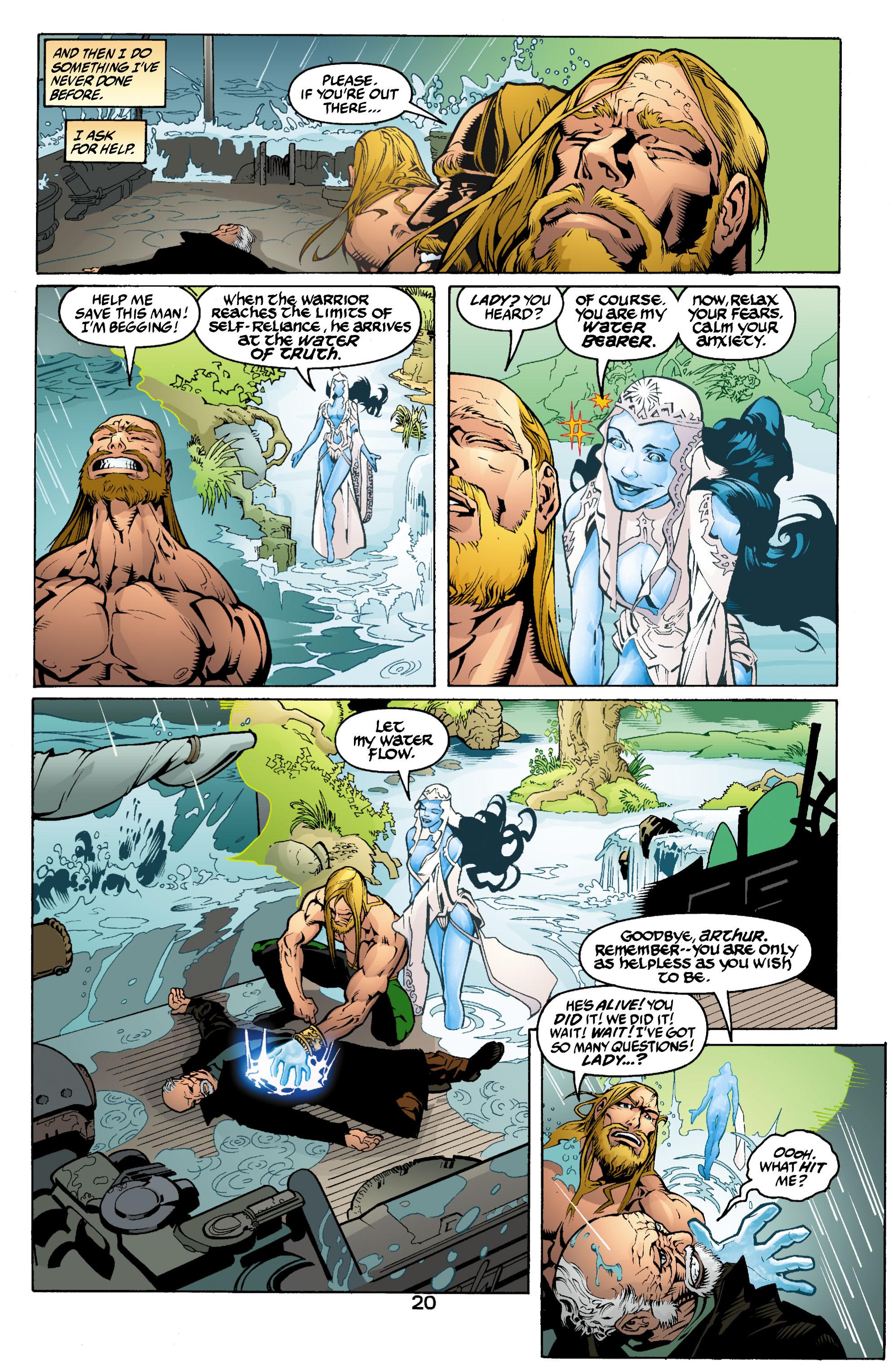 Read online Aquaman (2003) comic -  Issue #2 - 21