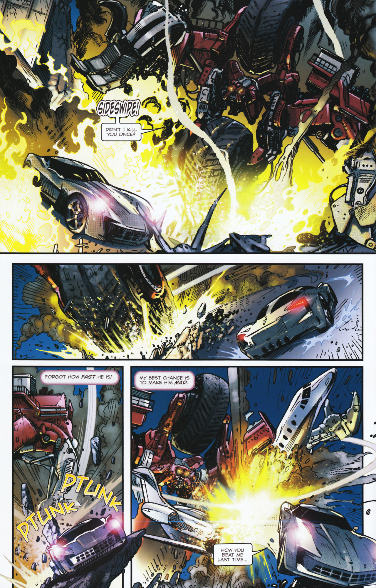 Read online Transformers: Tales of The Fallen comic -  Issue #2 - 13
