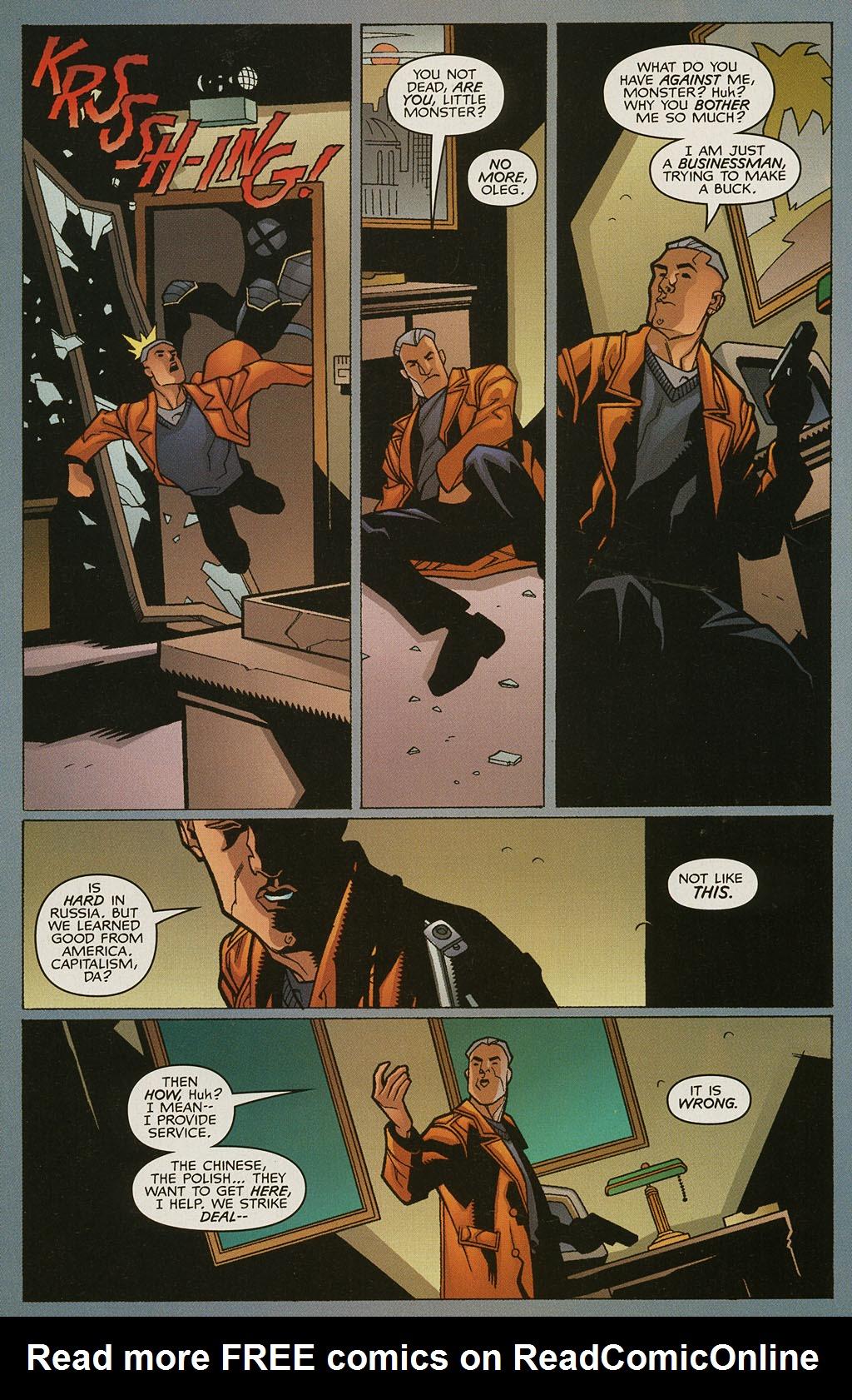 Read online Nightcrawler (2002) comic -  Issue #4 - 15