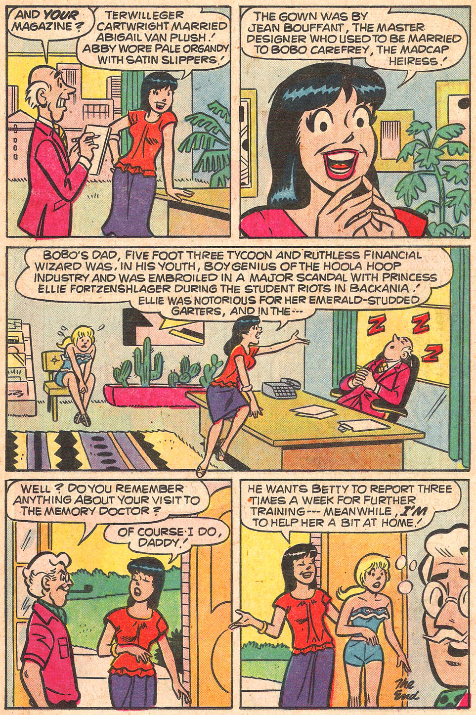 Read online Archie's Girls Betty and Veronica comic -  Issue #274 - 18