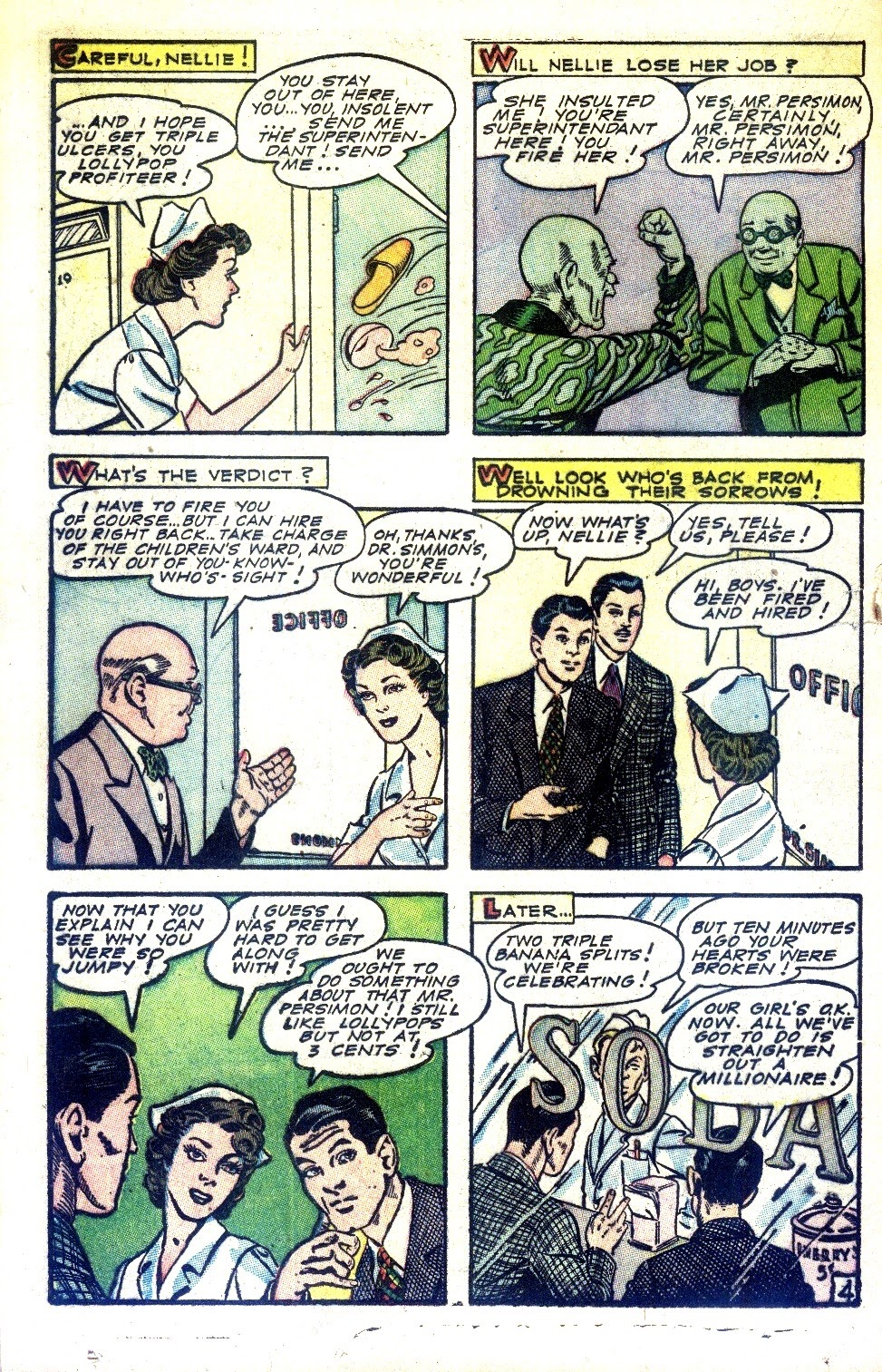 Read online Nellie The Nurse (1945) comic -  Issue #2 - 30