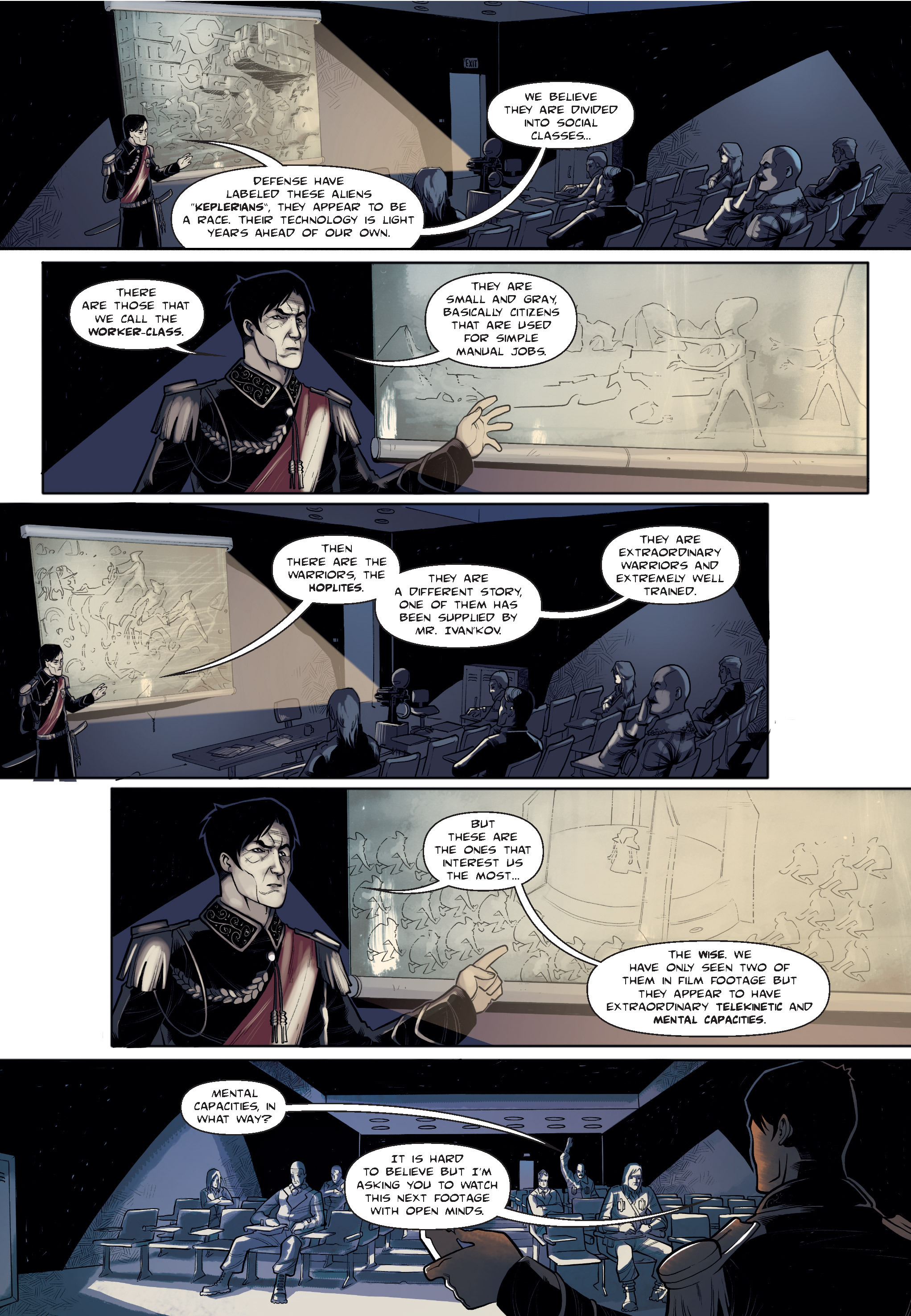Read online The Shadow of a Terrible Thing comic -  Issue # TPB - 35