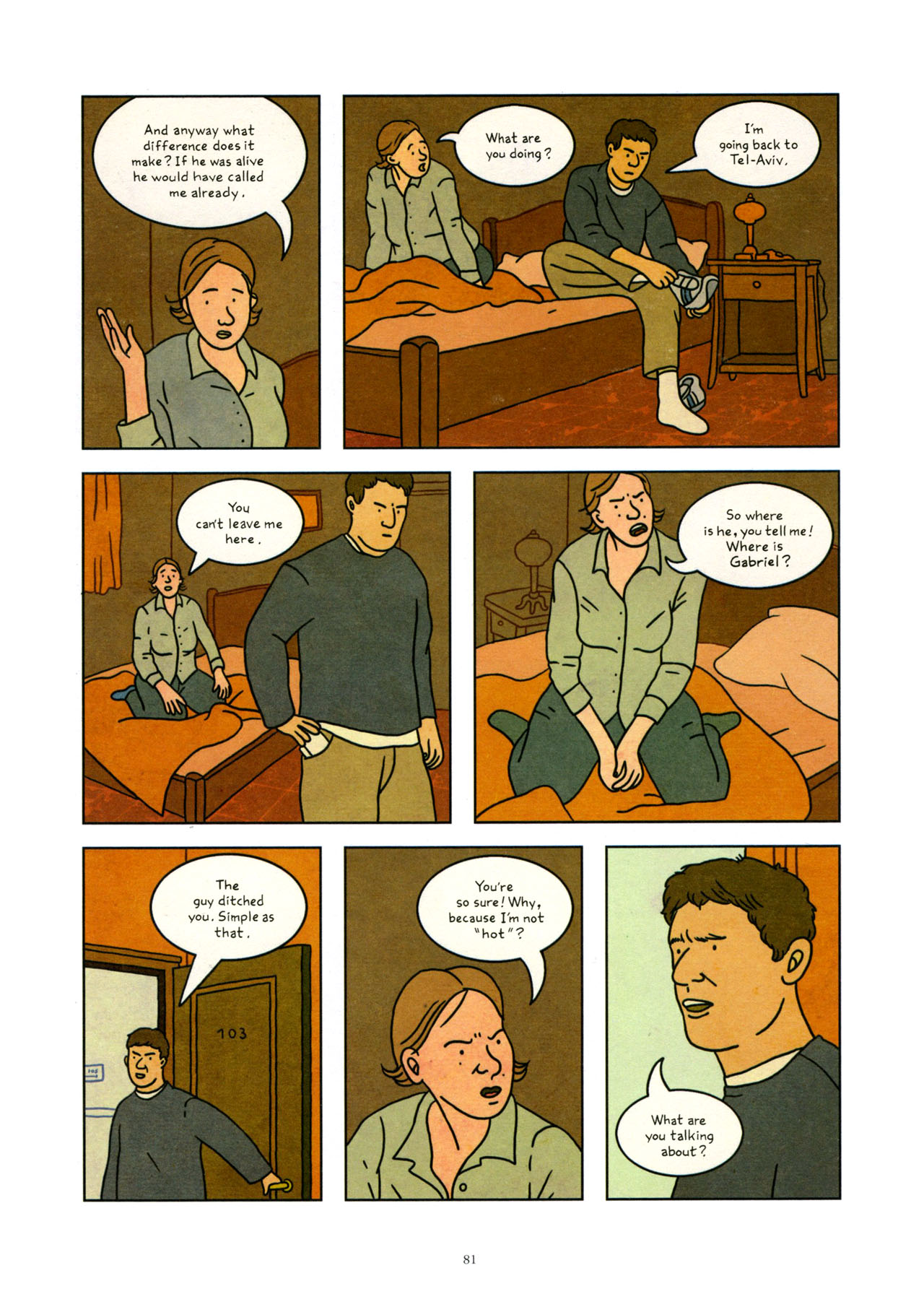 Read online Exit Wounds comic -  Issue # TPB - 82