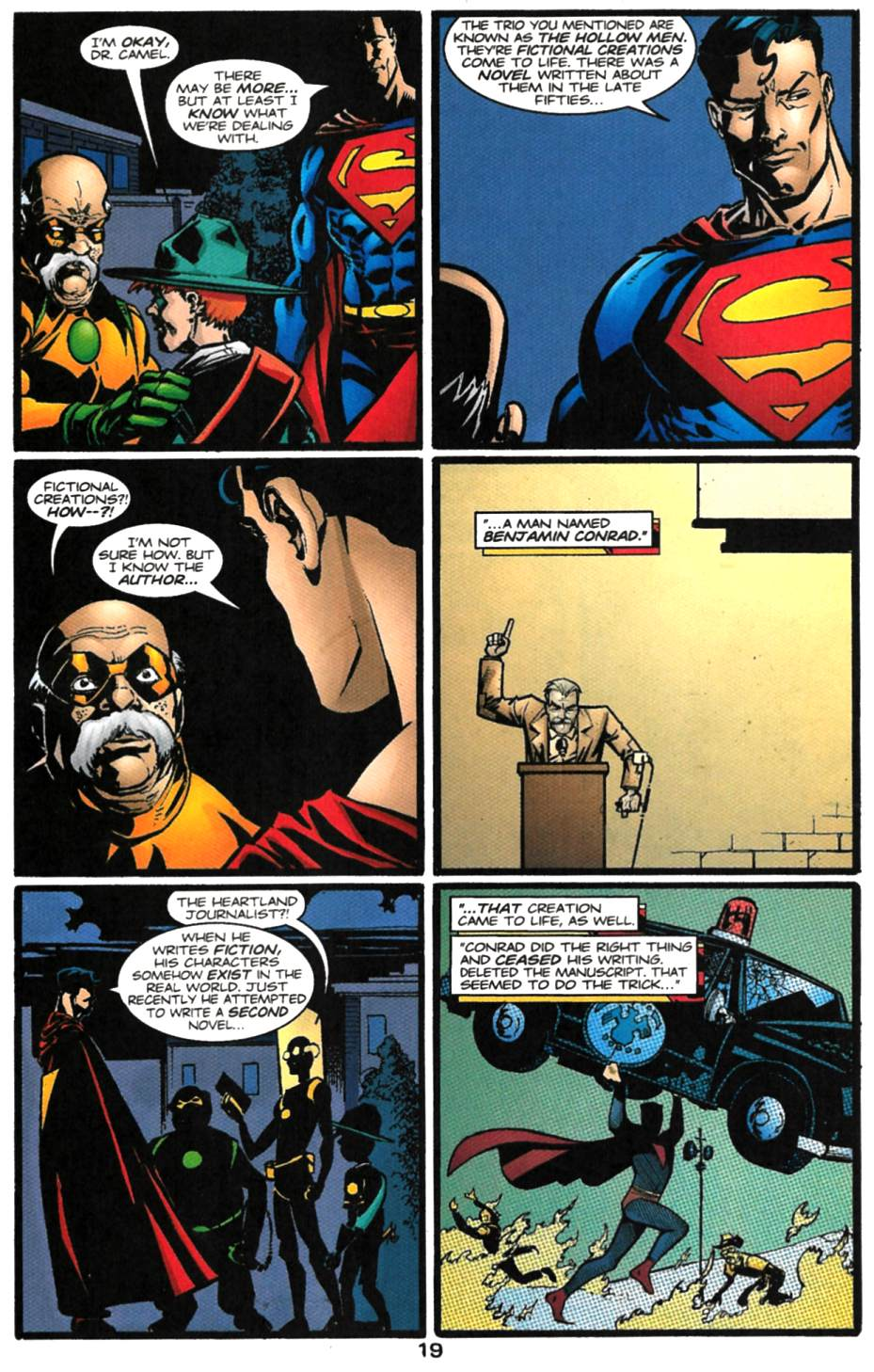 Read online Adventures of Superman (1987) comic -  Issue #615 - 20