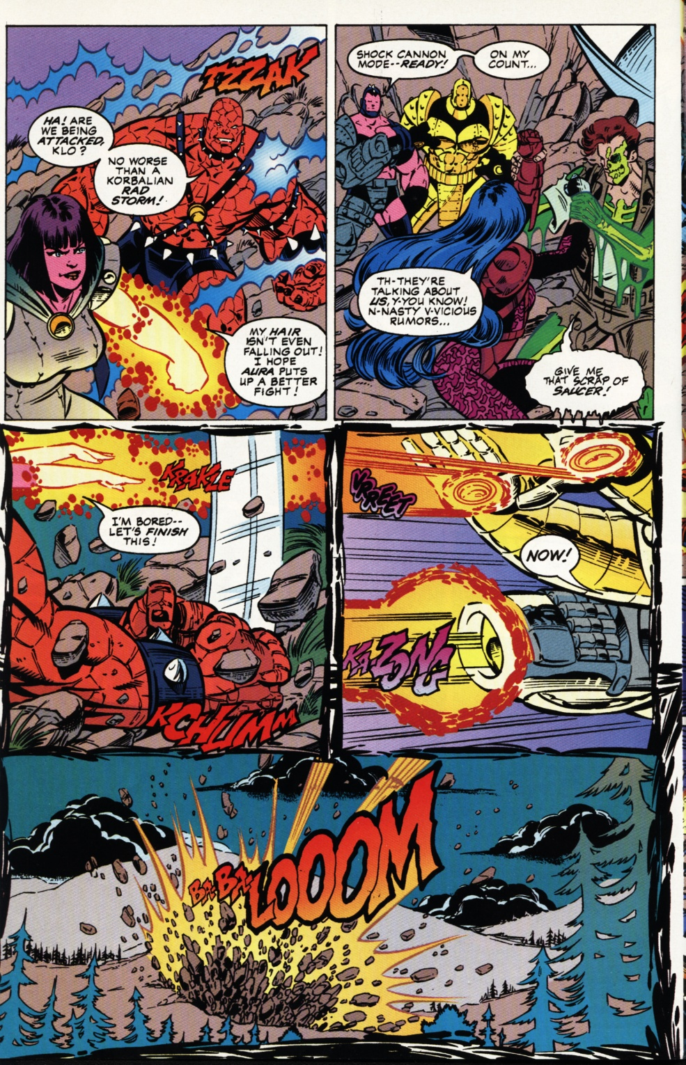 Read online Superboy & The Ravers comic -  Issue #3 - 7