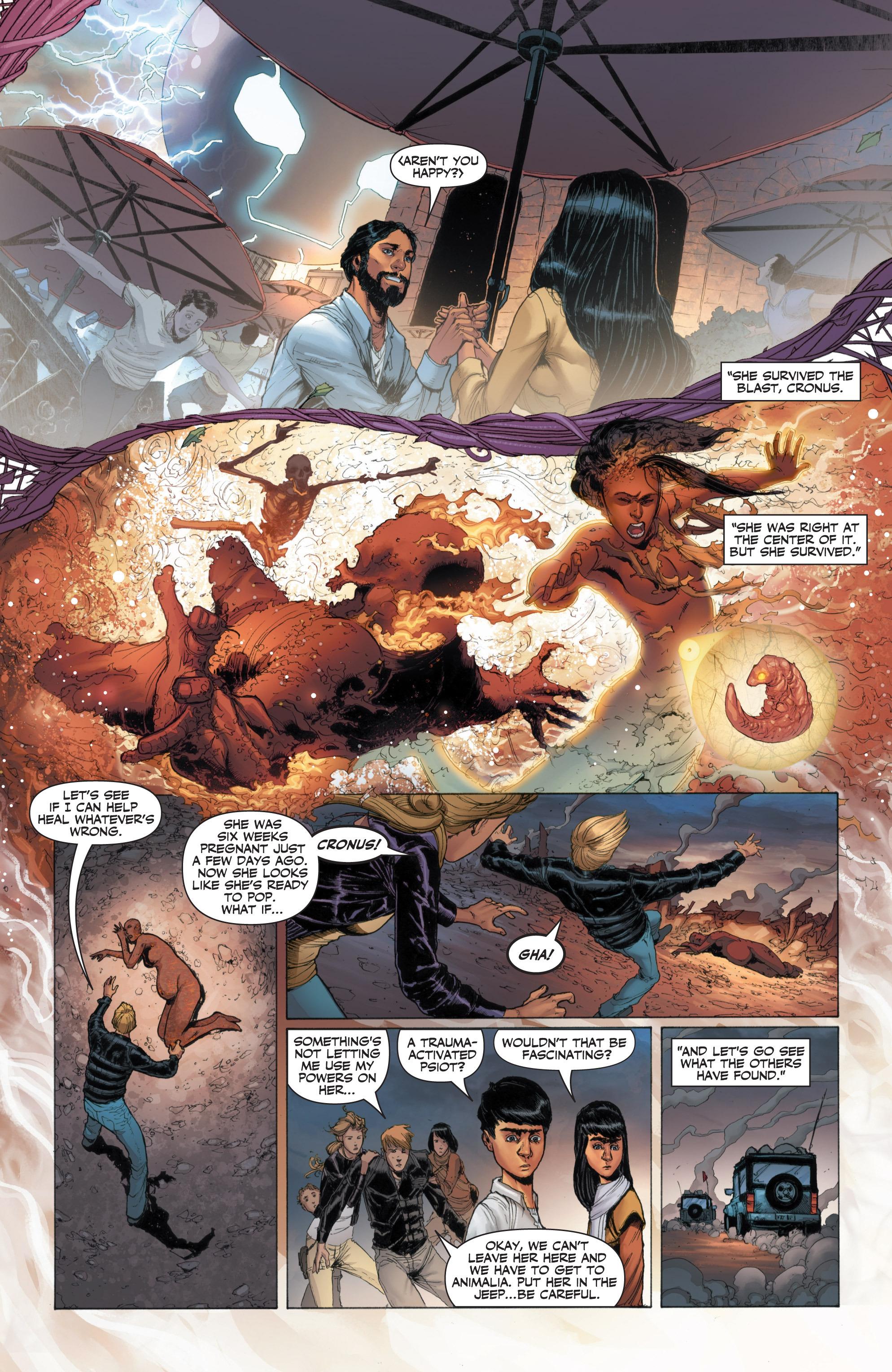 Read online Armor Hunters: Harbinger comic -  Issue # TPB - 39