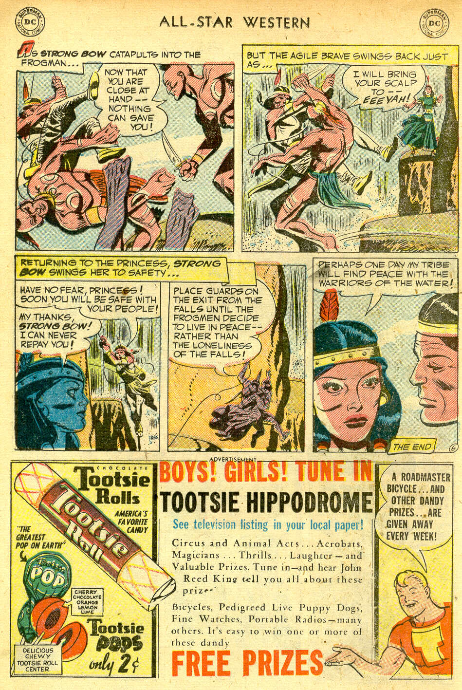 Read online All-Star Western (1951) comic -  Issue #68 - 16
