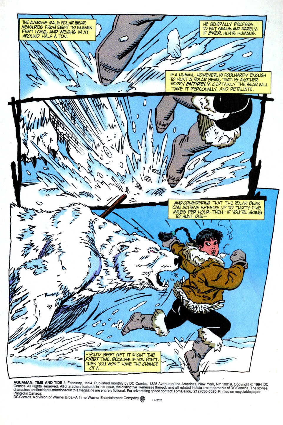 Read online Aquaman: Time and Tide comic -  Issue #3 - 2