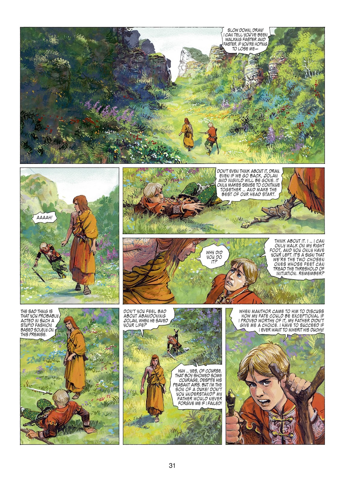 Read online Thorgal comic -  Issue #22 - 33